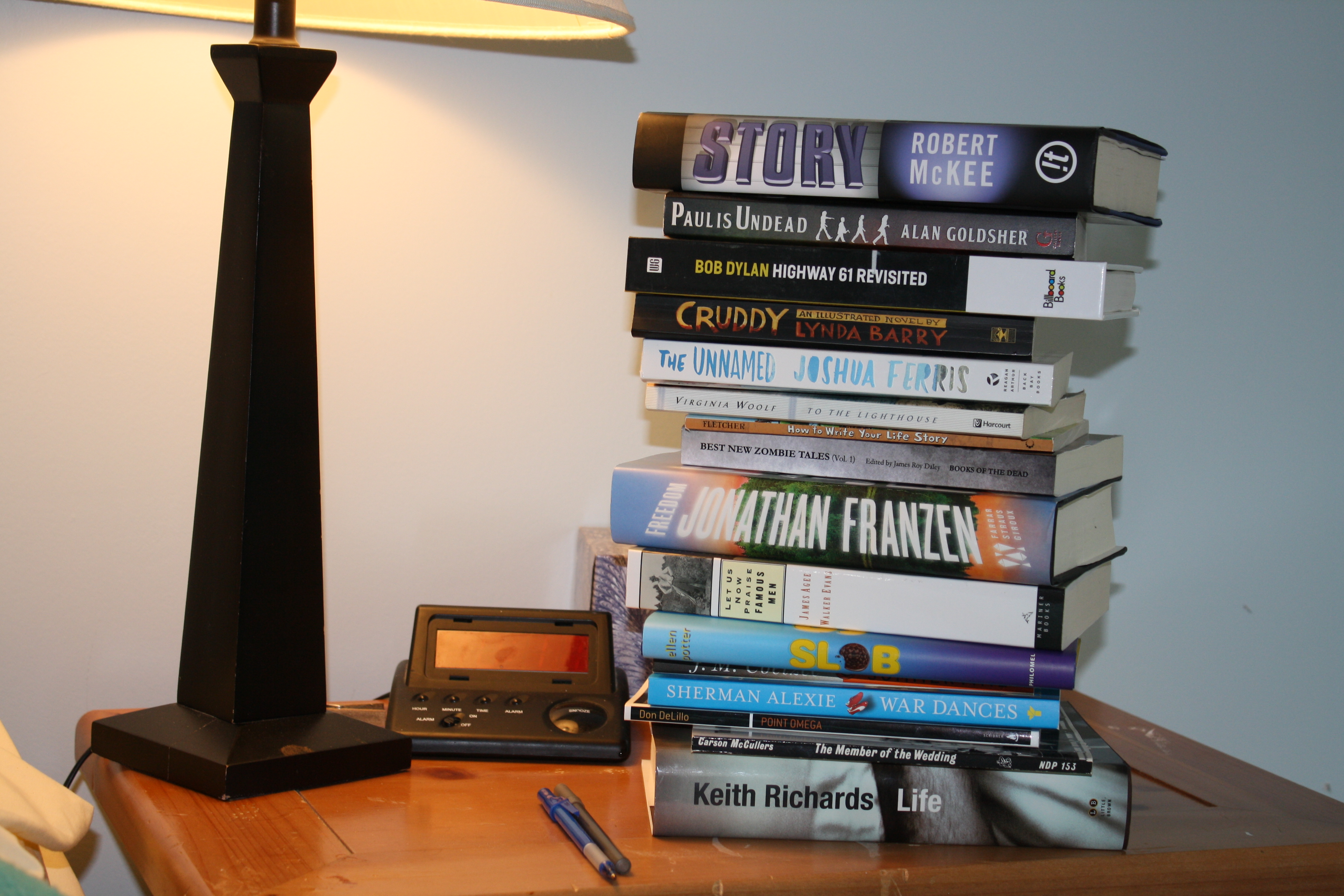 The Stack of Books on My Night Table: Summer Reading | James ...