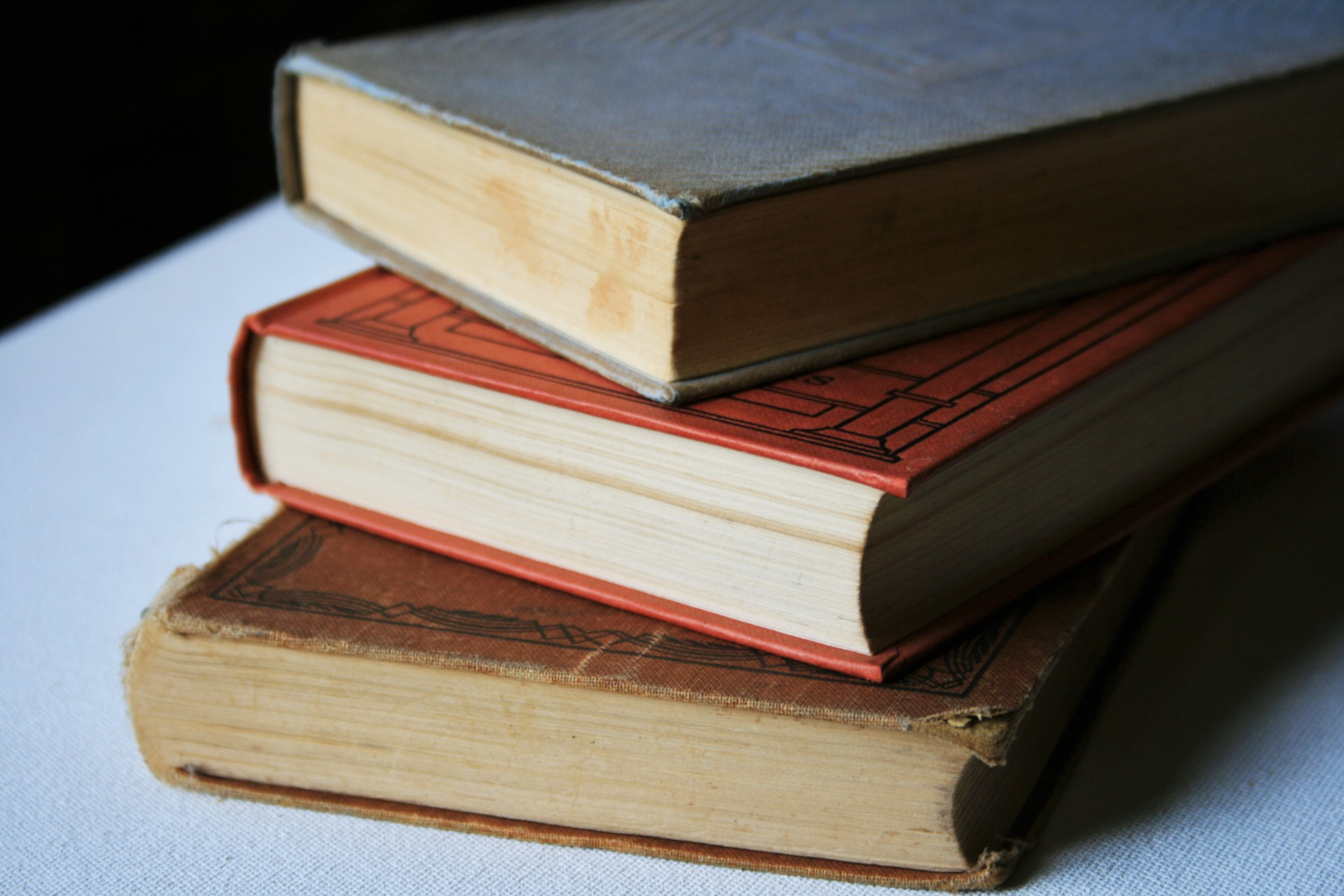 Old Books Stacked Free Stock Photo - Public Domain Pictures