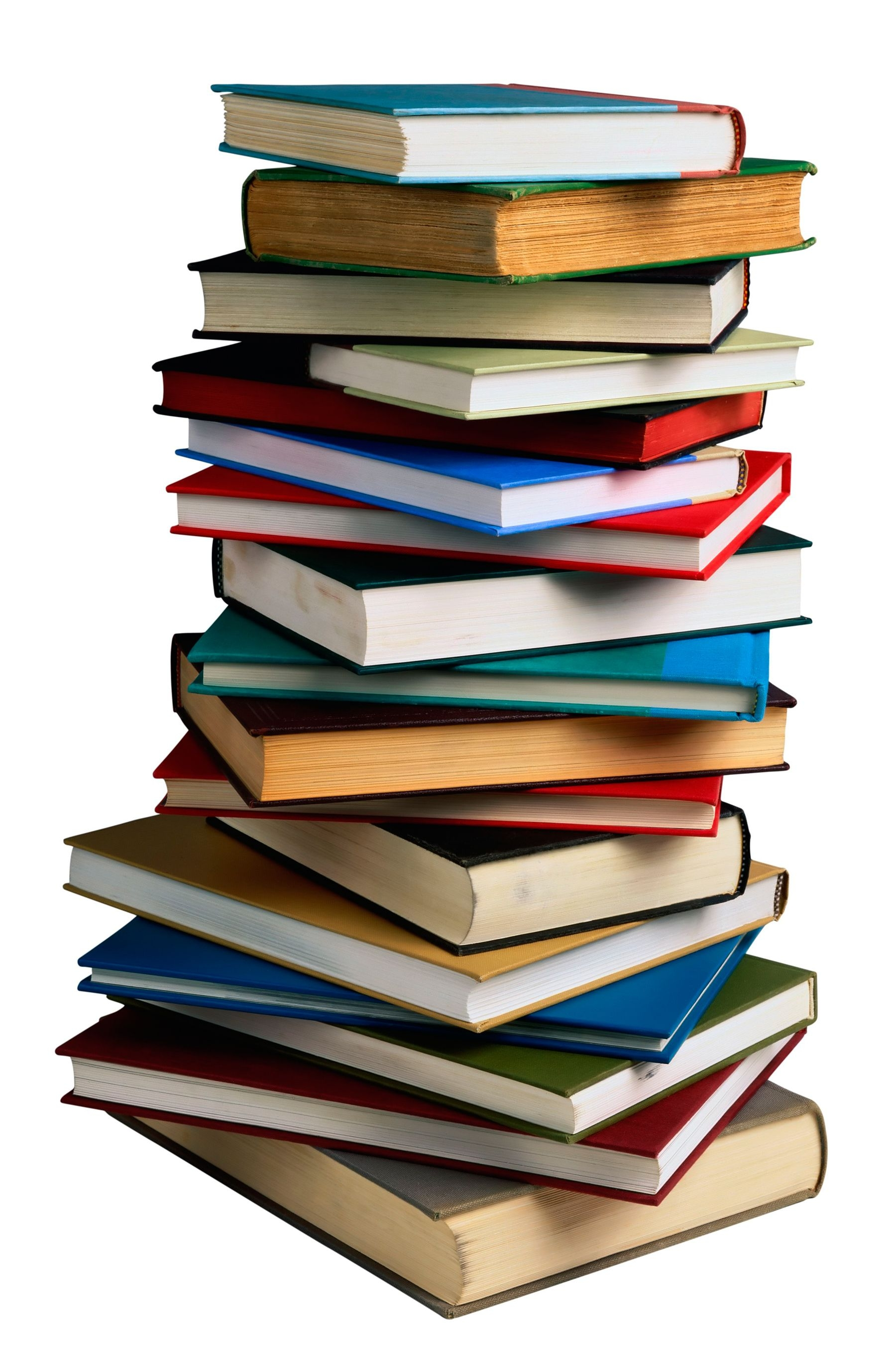 Awesome Stack Of Books Clipart Design - Digital Clipart Collection