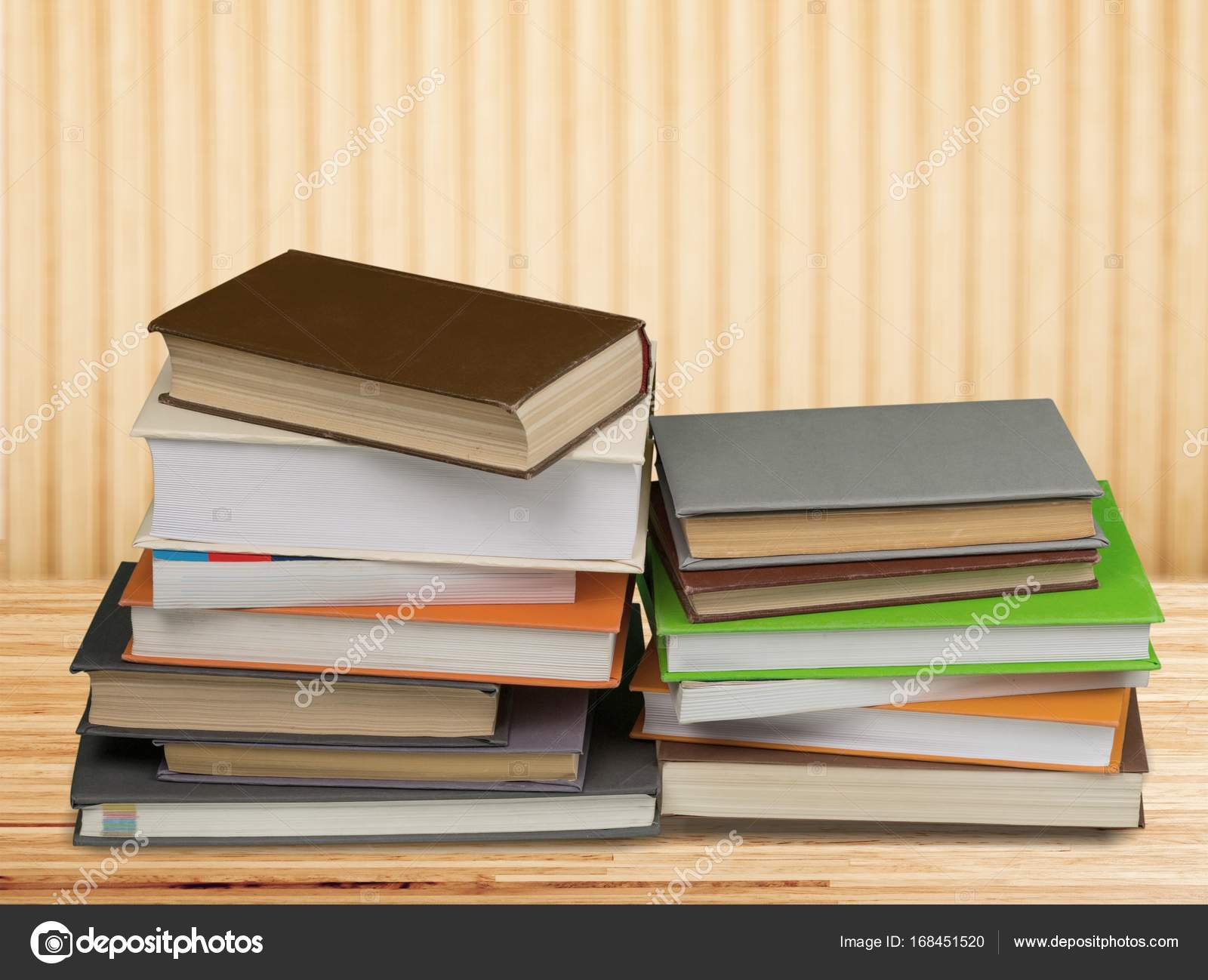 Old stacked books — Stock Photo © billiondigital #168451520