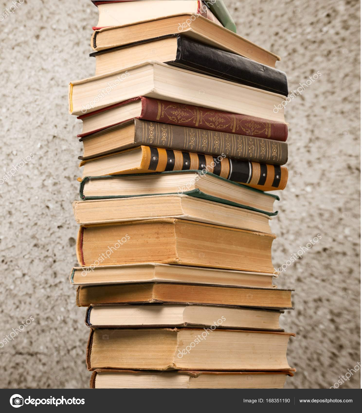 Old stacked books — Stock Photo © billiondigital #168351190
