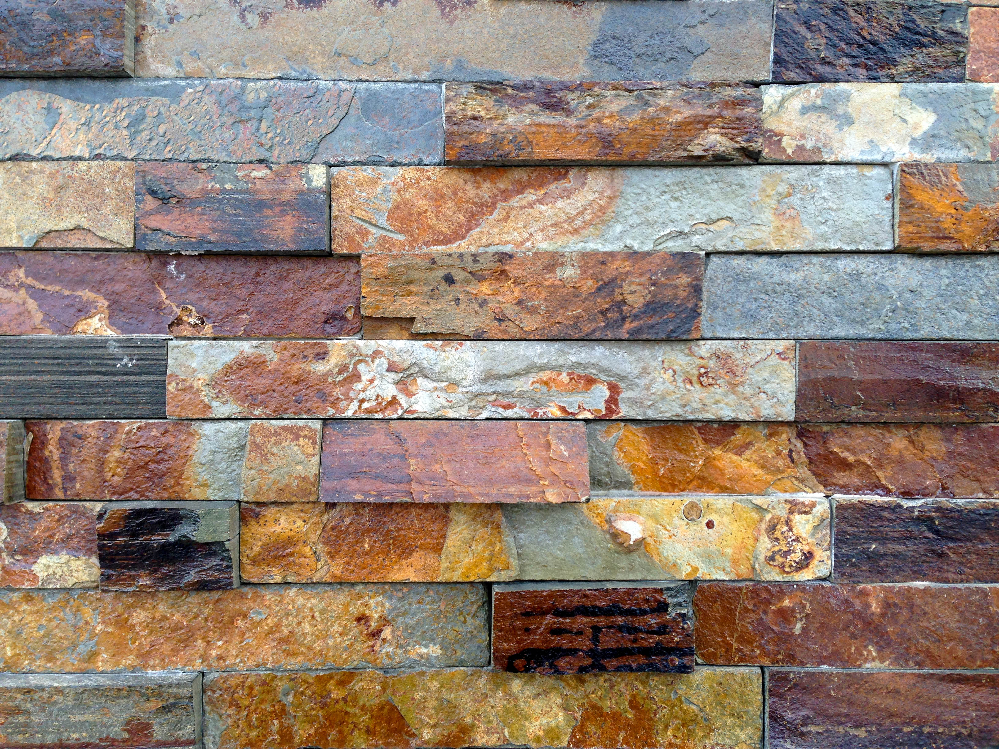 Stacked stone, Stone, Outdoors, Paving, Red, HQ Photo