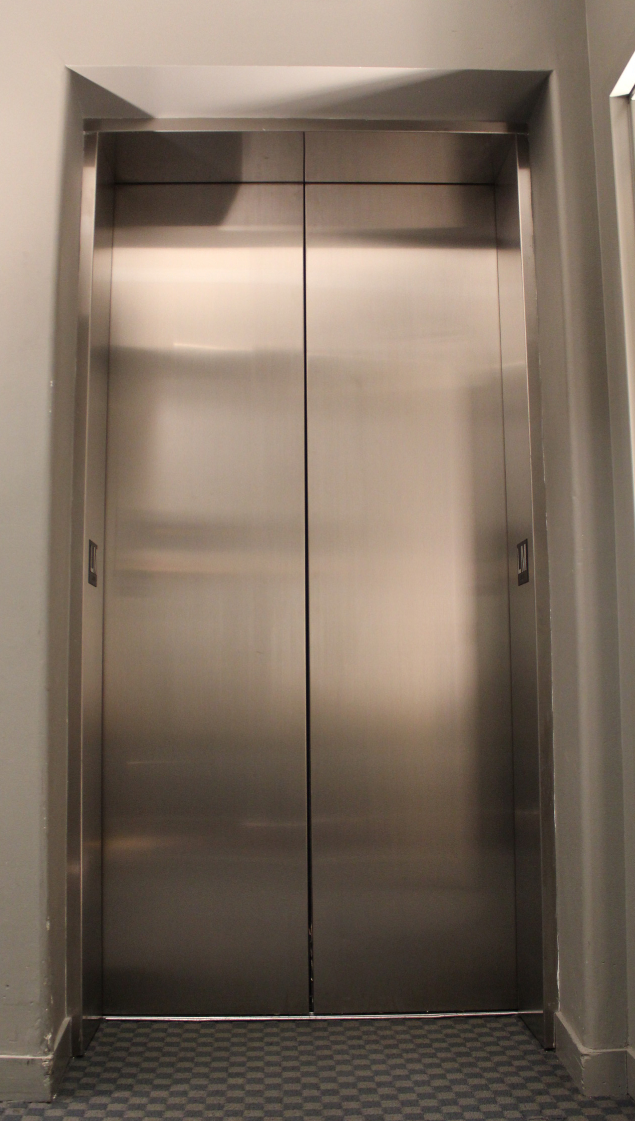 Stainless steel elevators photo