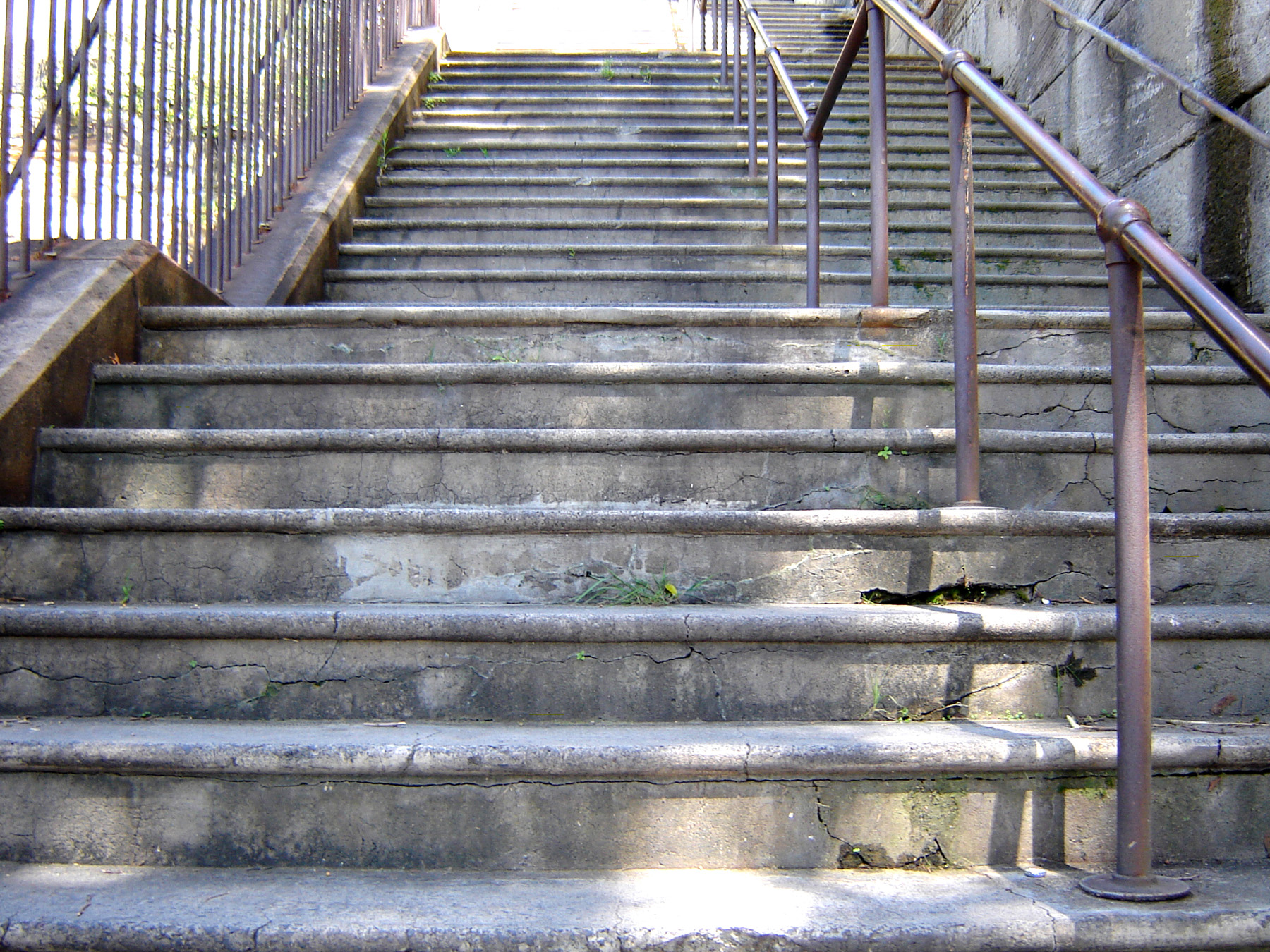Stairs, Below, Concrete, Outside, Steps, HQ Photo