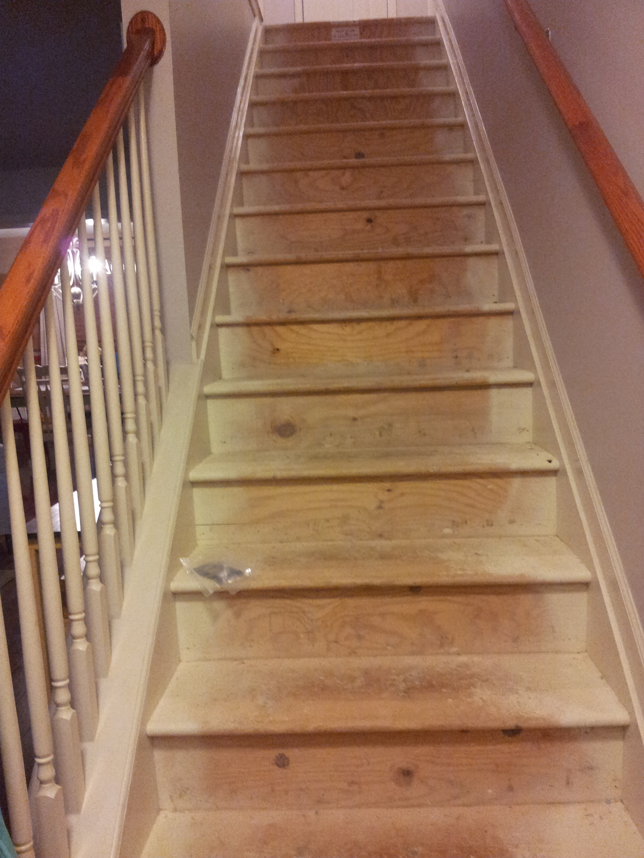 Painted Stairs for Under $50 • Our Storied Home