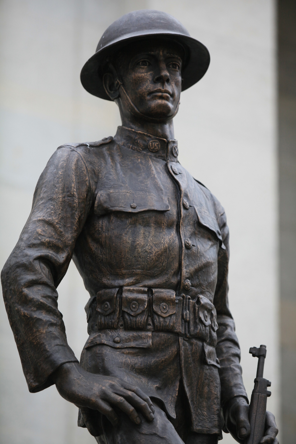 Stand Tall, Soldier, Statue, Vintage, War, HQ Photo