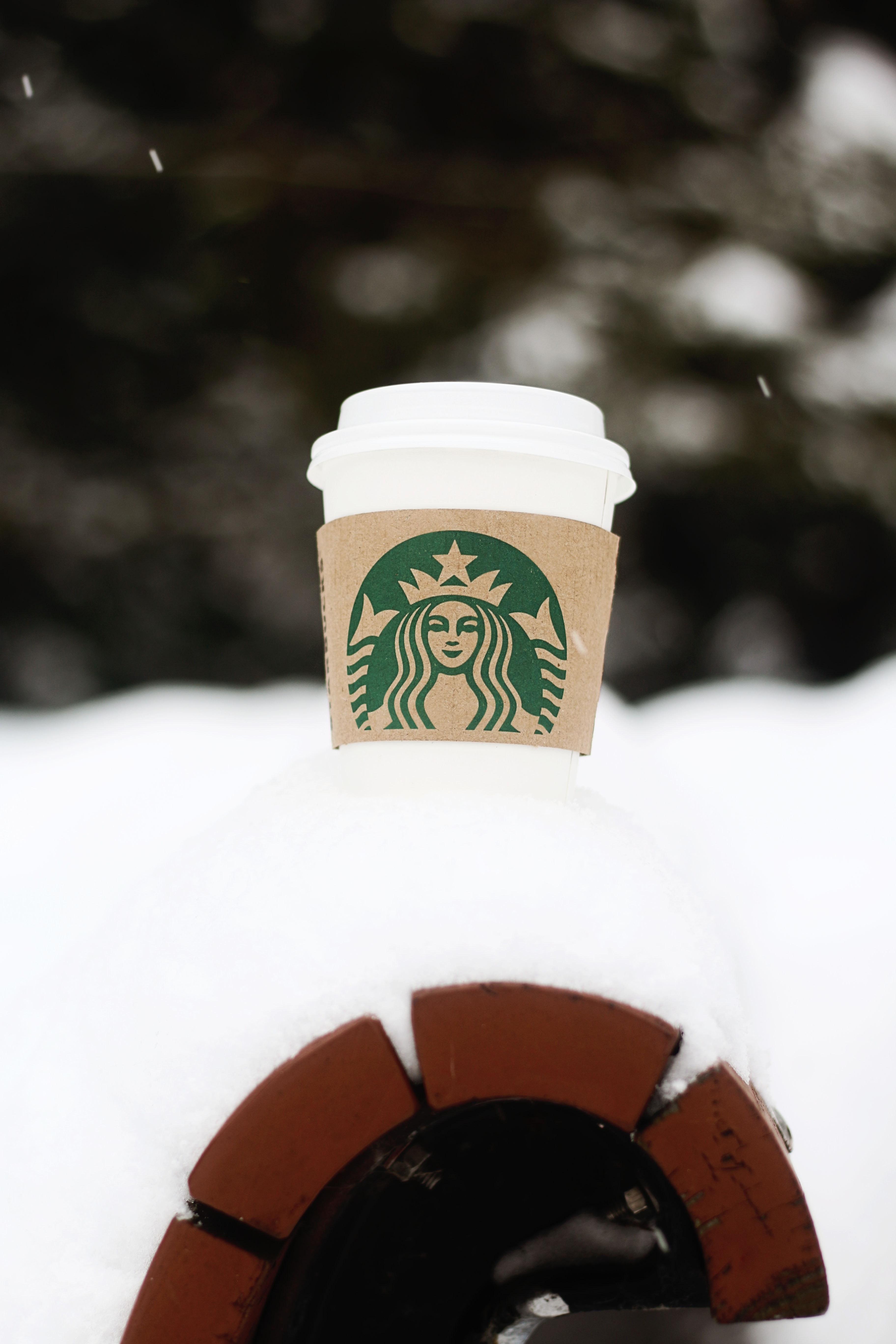 Starbucks hot coffee cup photo