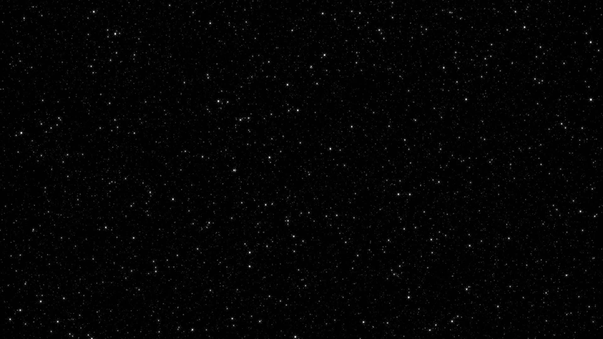 Night Sky 003: A night sky with a twinkling star field (Loop ...