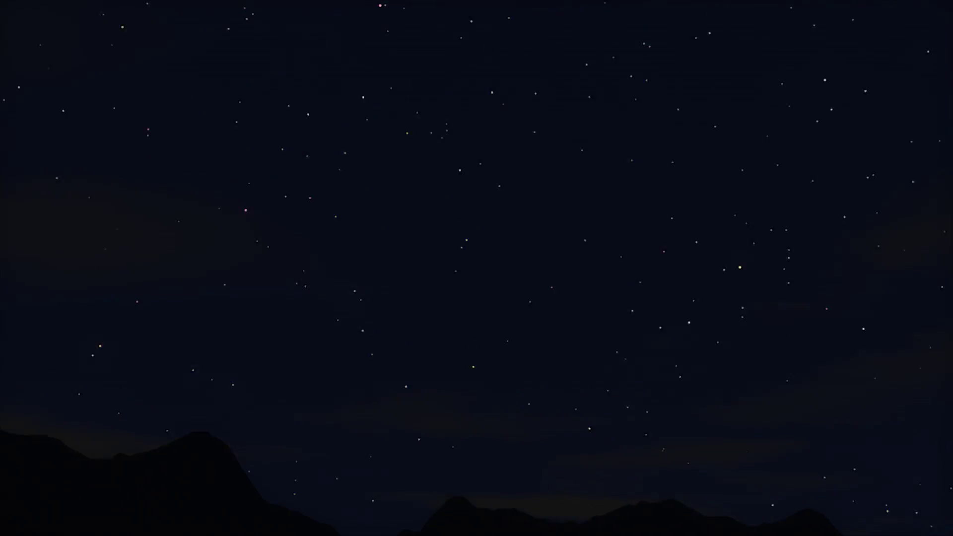 Time lapse of starry sky over rocky mountain river Motion Background ...