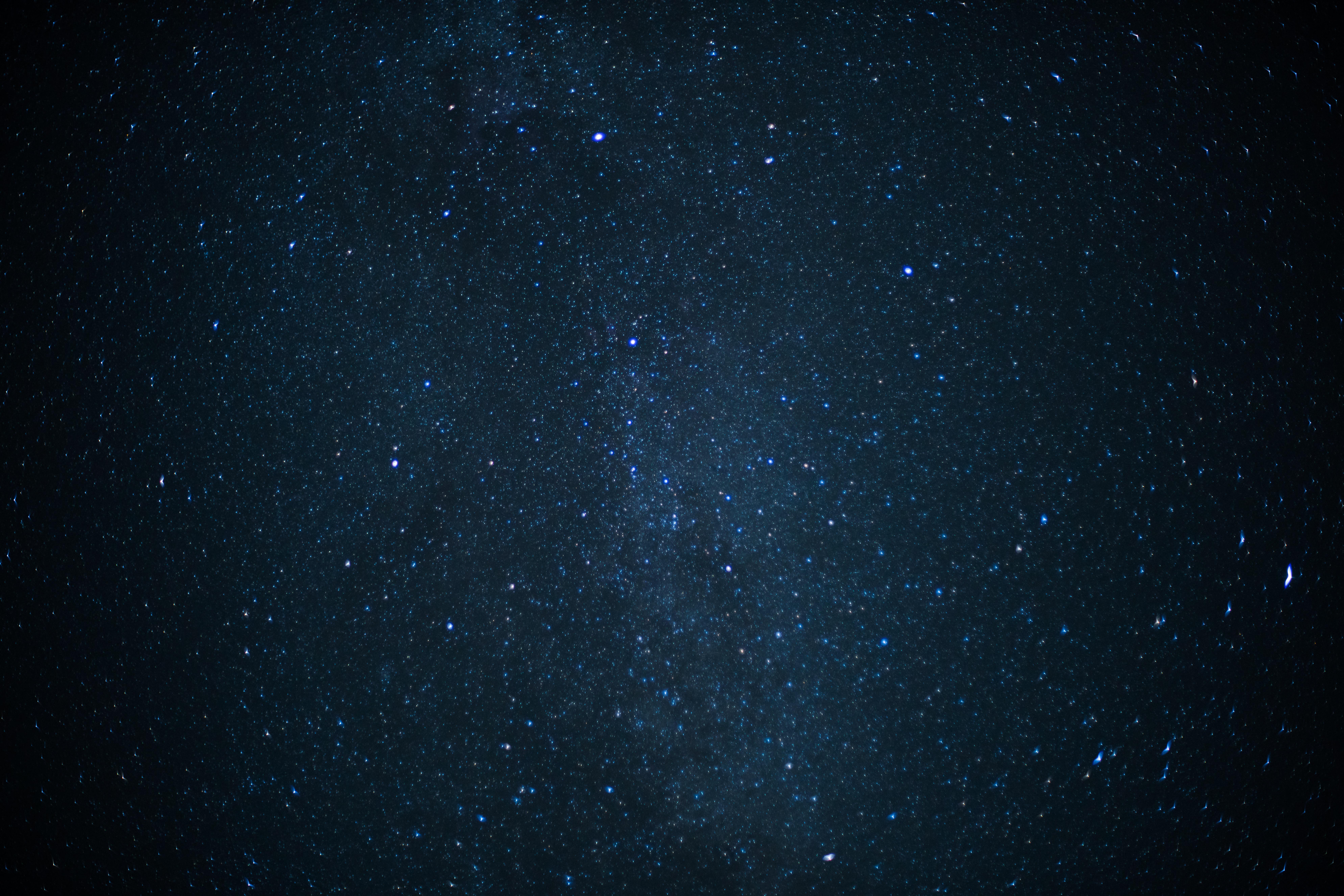 Starry Sky, Dark, High, Nature, Night, HQ Photo
