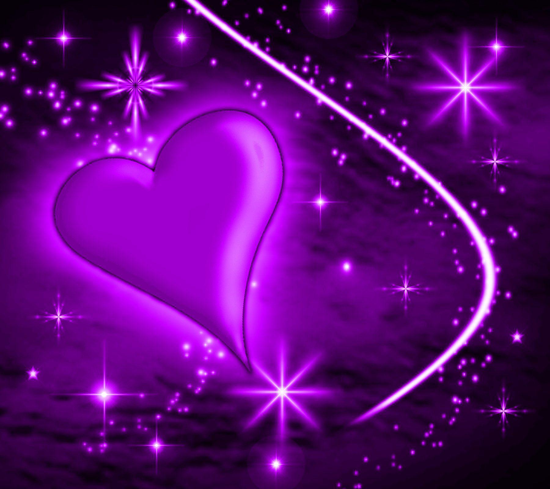 Purple Colorful Desktops | Background Wallpaper Image: Purple Heart ...