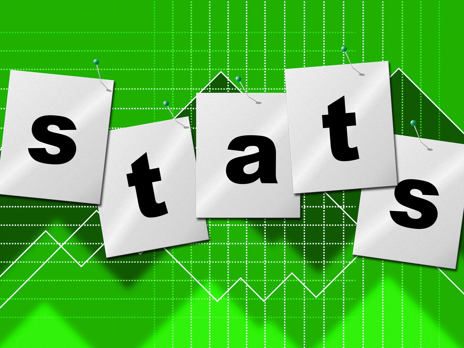 Statistics data indicates stats bytes and reports photo