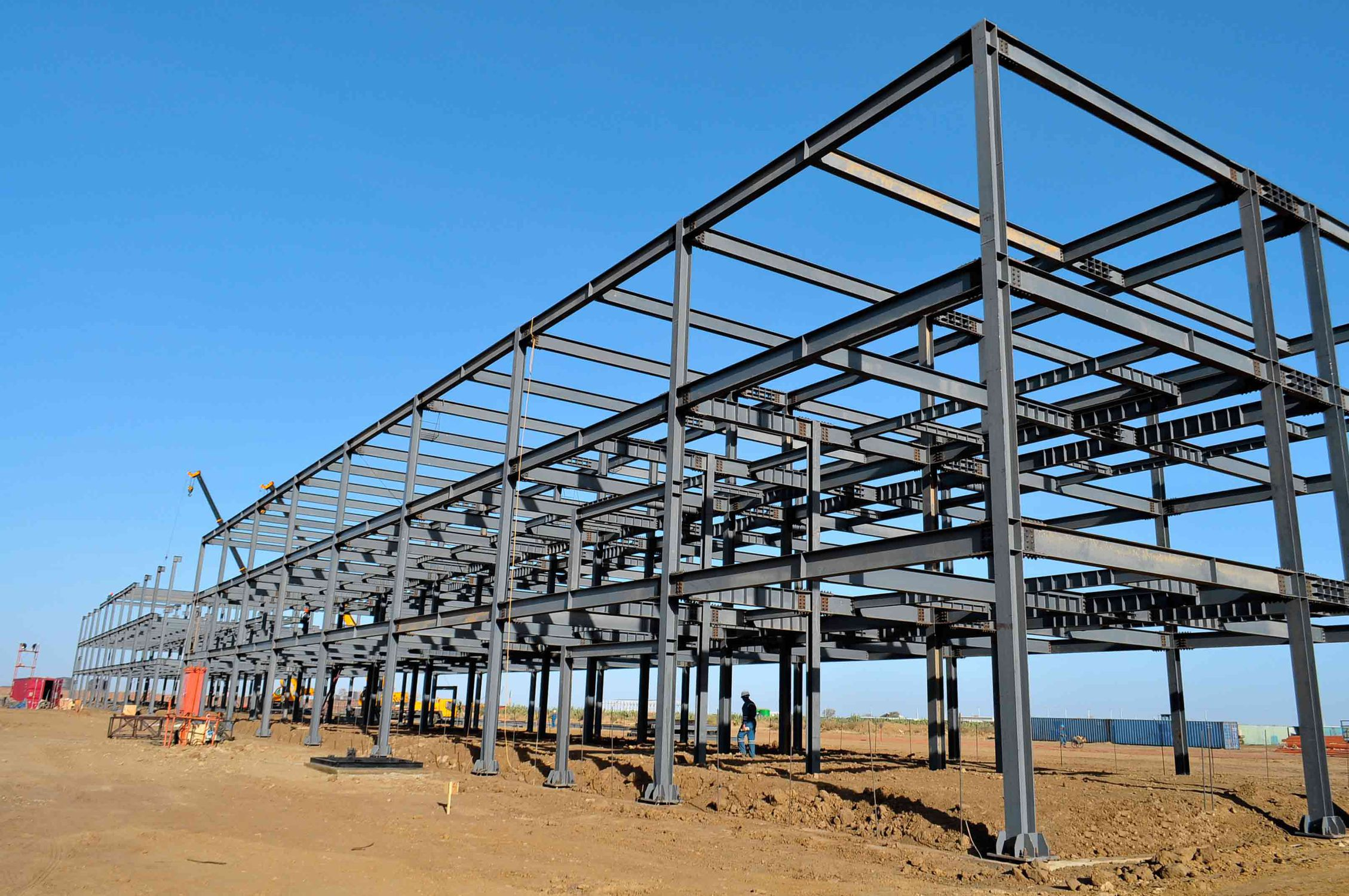 Steel structure - FACTORY BUILDINGS - Union Living
