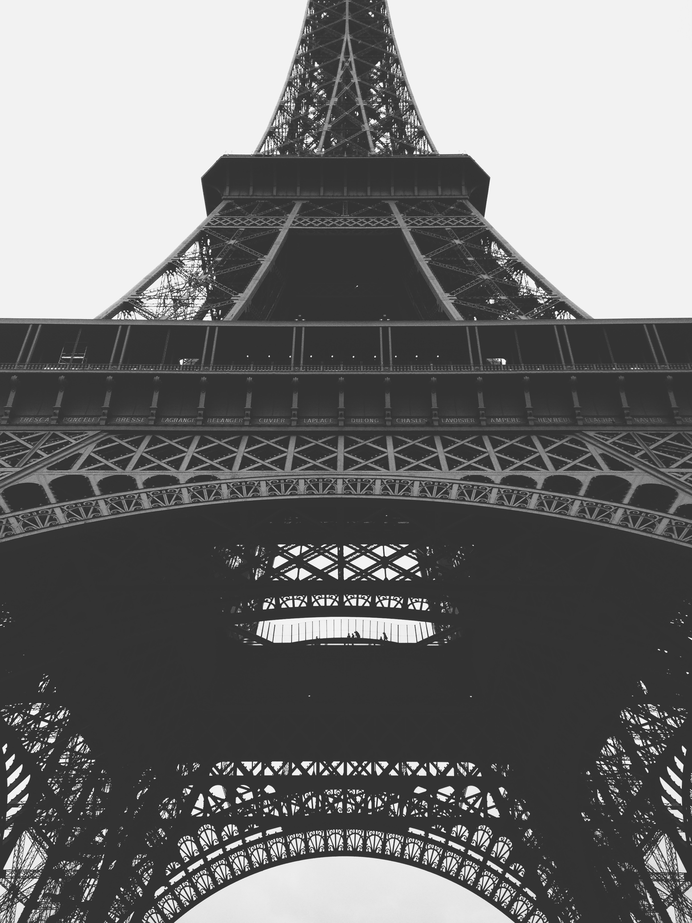 Steel Structure, Closeup, Eiffel, France, Heavy, HQ Photo