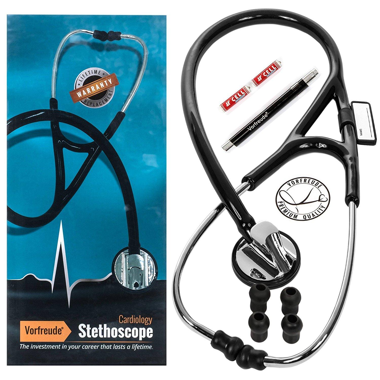 Amazon.com: Vorfreude Cardiology II Stethoscope Lifetime Replacement ...
