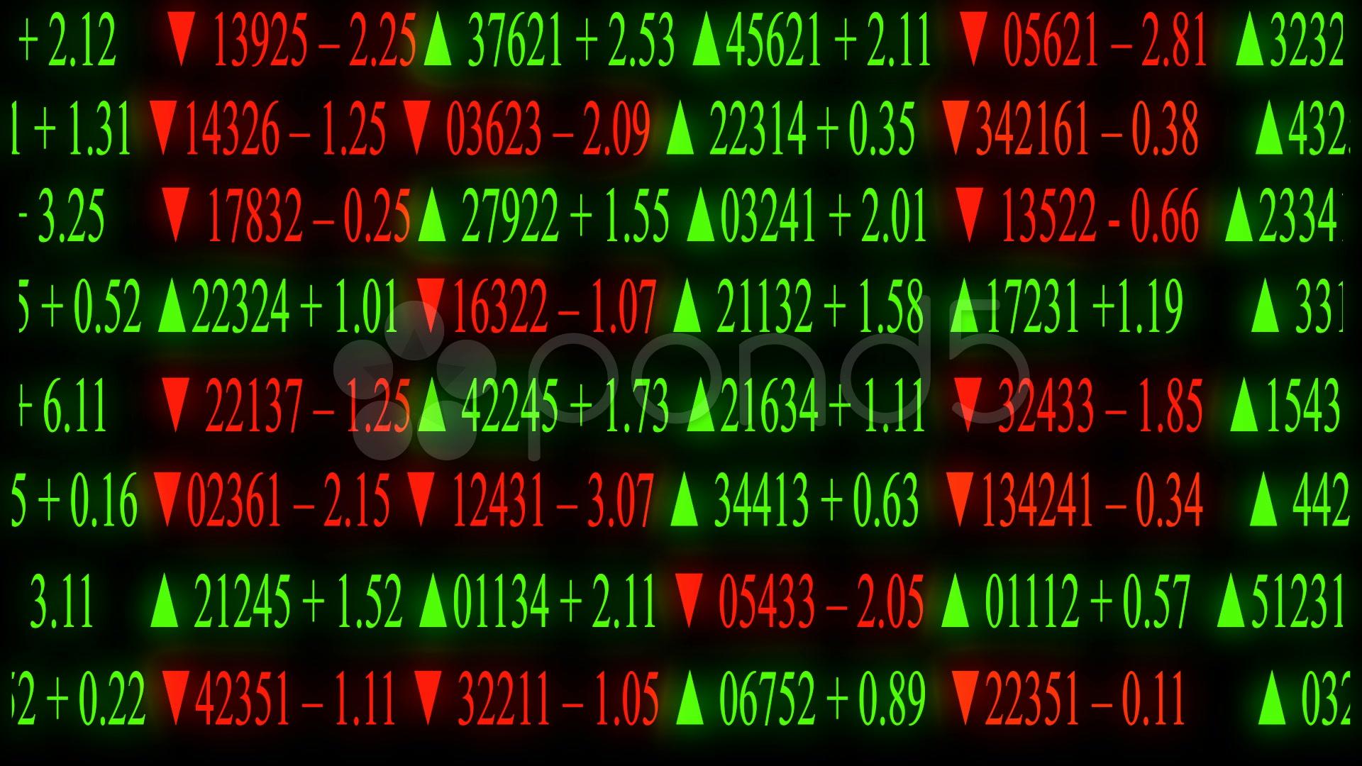 Stock market board ~ High Resolution ~ Hi Res Video #1057336