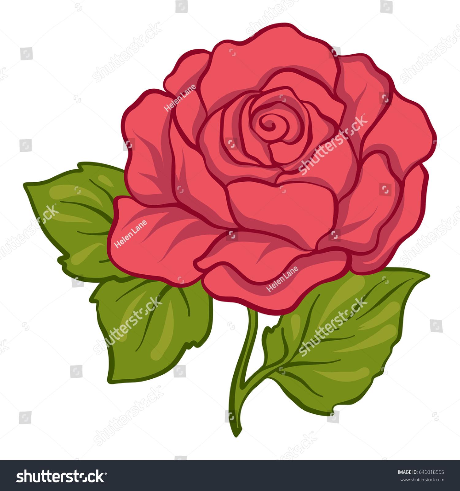 Stock rose photo
