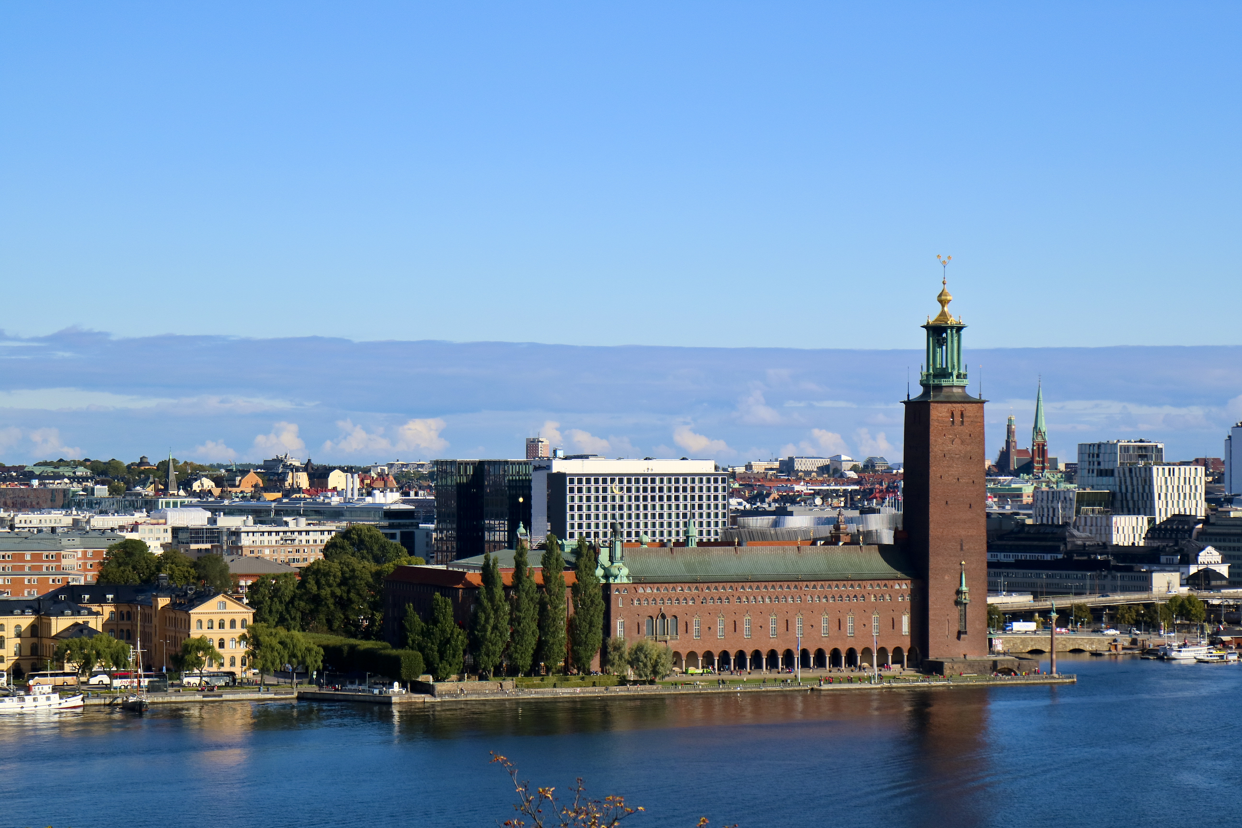 Stockholms stadshus / Stockholm City Hall, Building, City, Hall, Sky, HQ Photo
