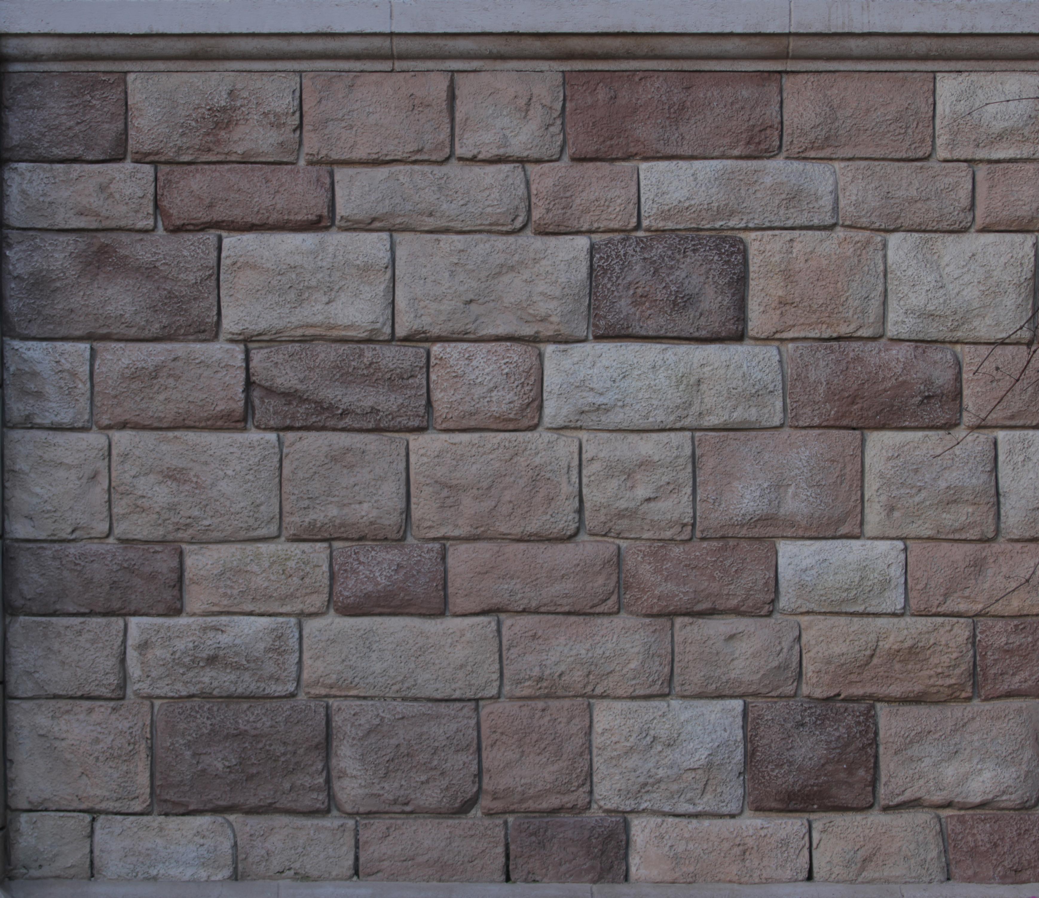 Gray Stone Block Wall - 14Textures