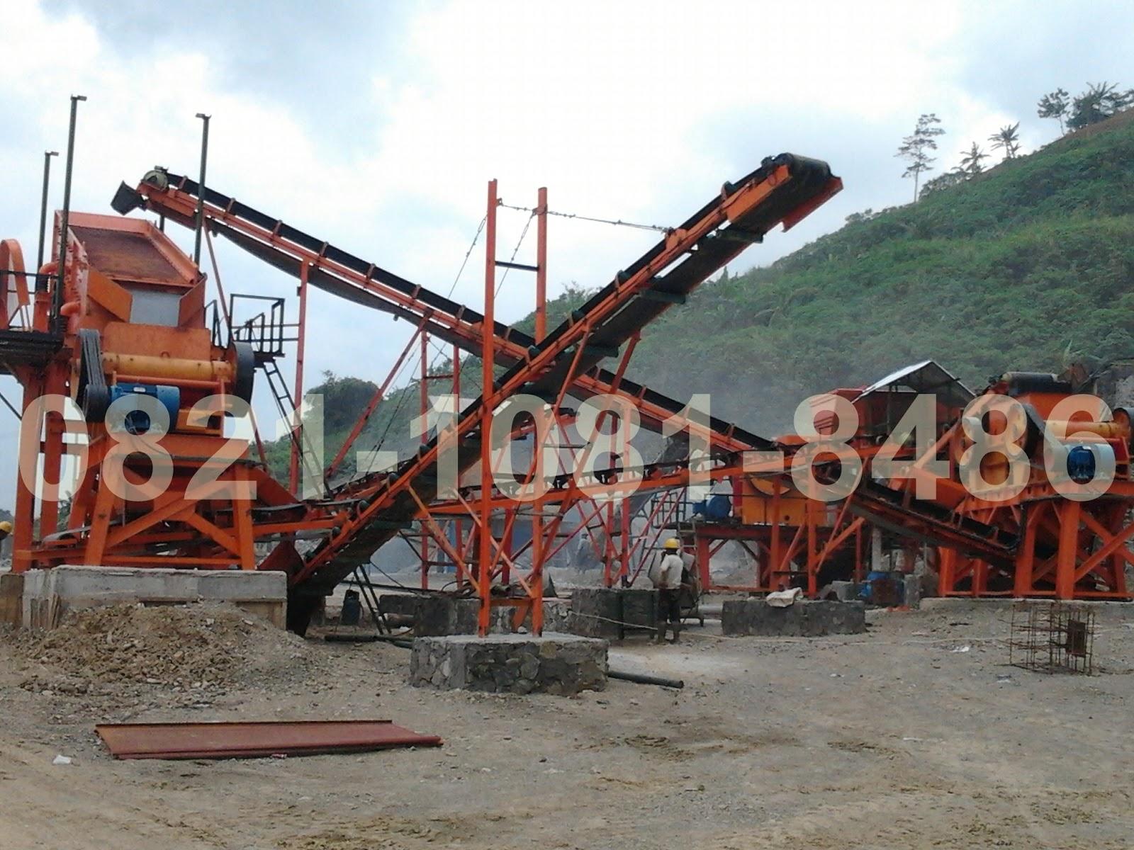 Jual Stone Crusher Plant Kapasitas 60-90 Ton Per Jam (Jaw-Jaw-Jaw ...