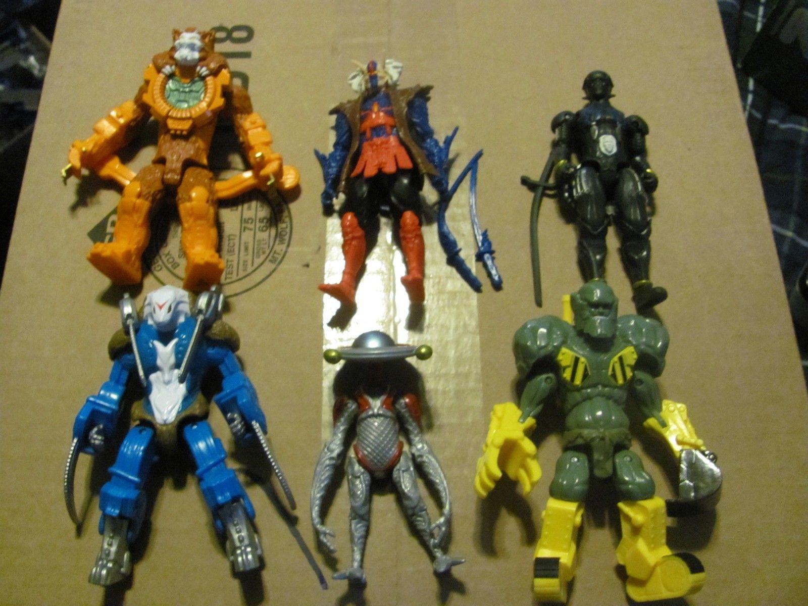Purchase Power Rangers Villains Lot CAT'O CLOCK, STONE DOZER ...