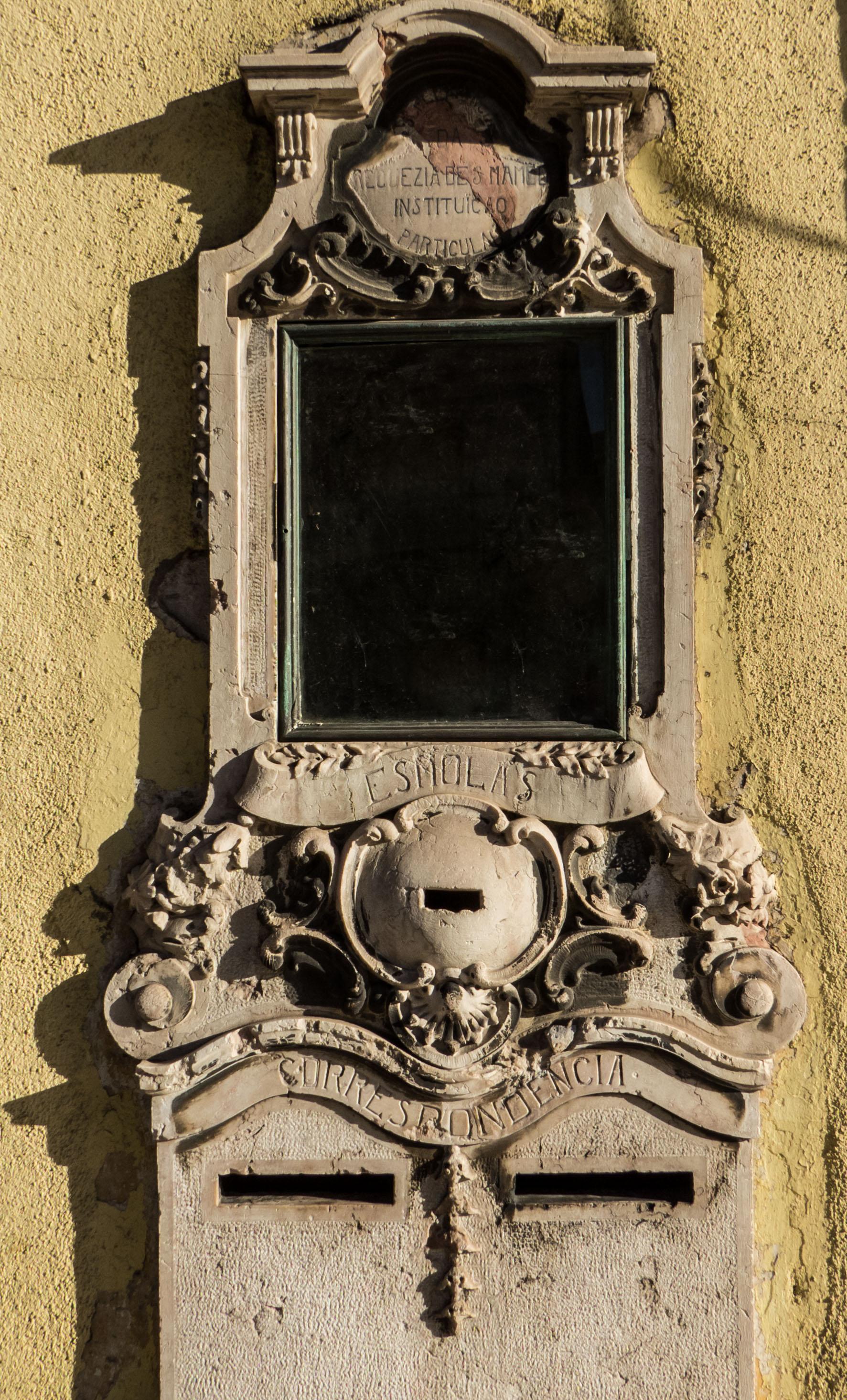 Stone mailbox photo