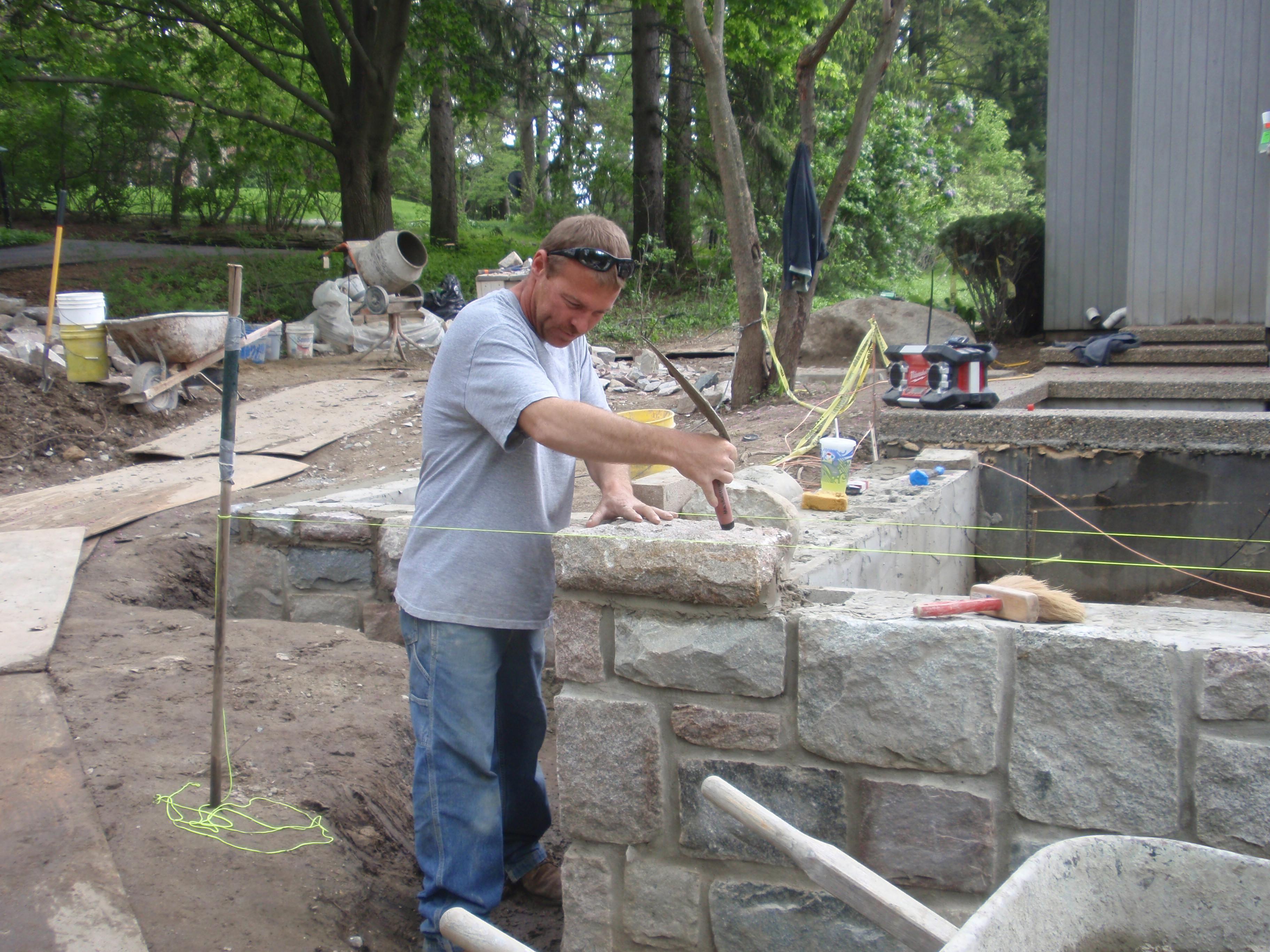Stone masons photo