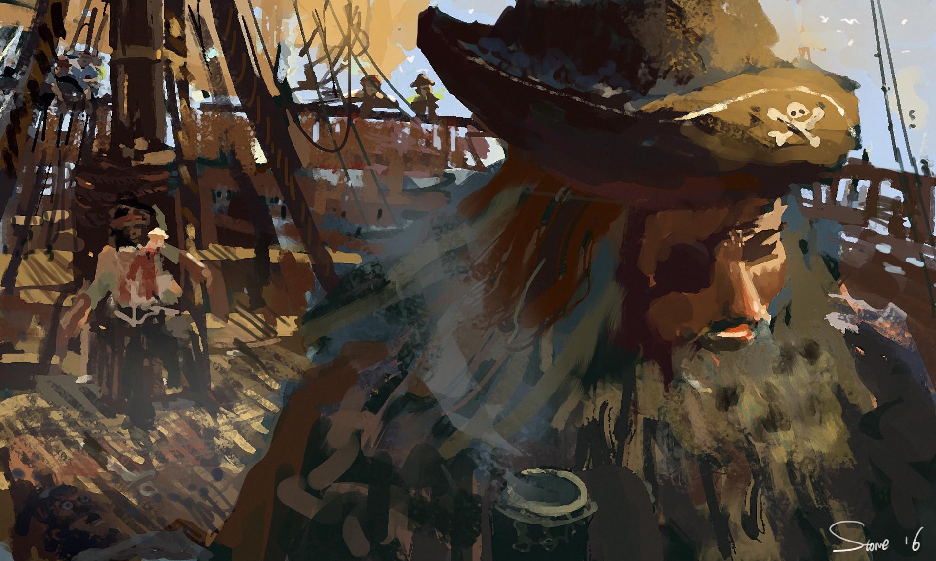 John Stone - He's a pirate