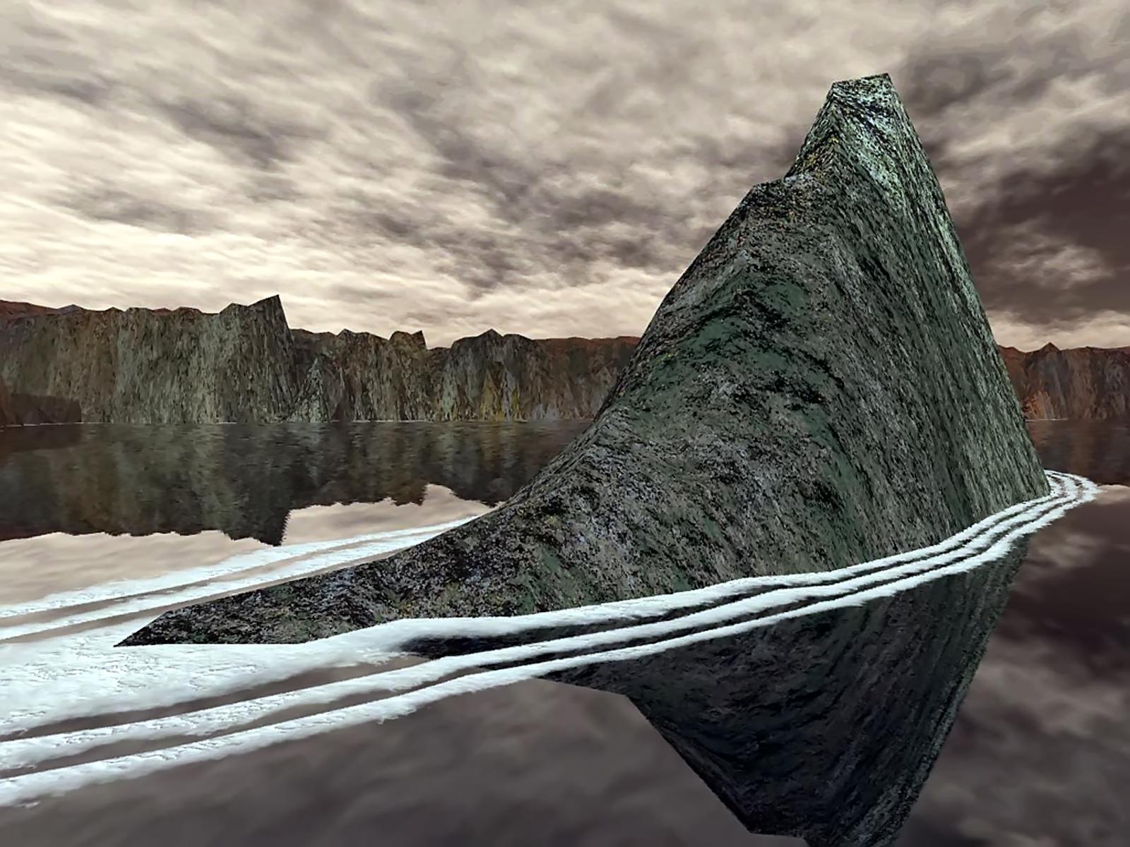 STONE SEAL, 3d, Bspo06, Landscape, Mountain, HQ Photo