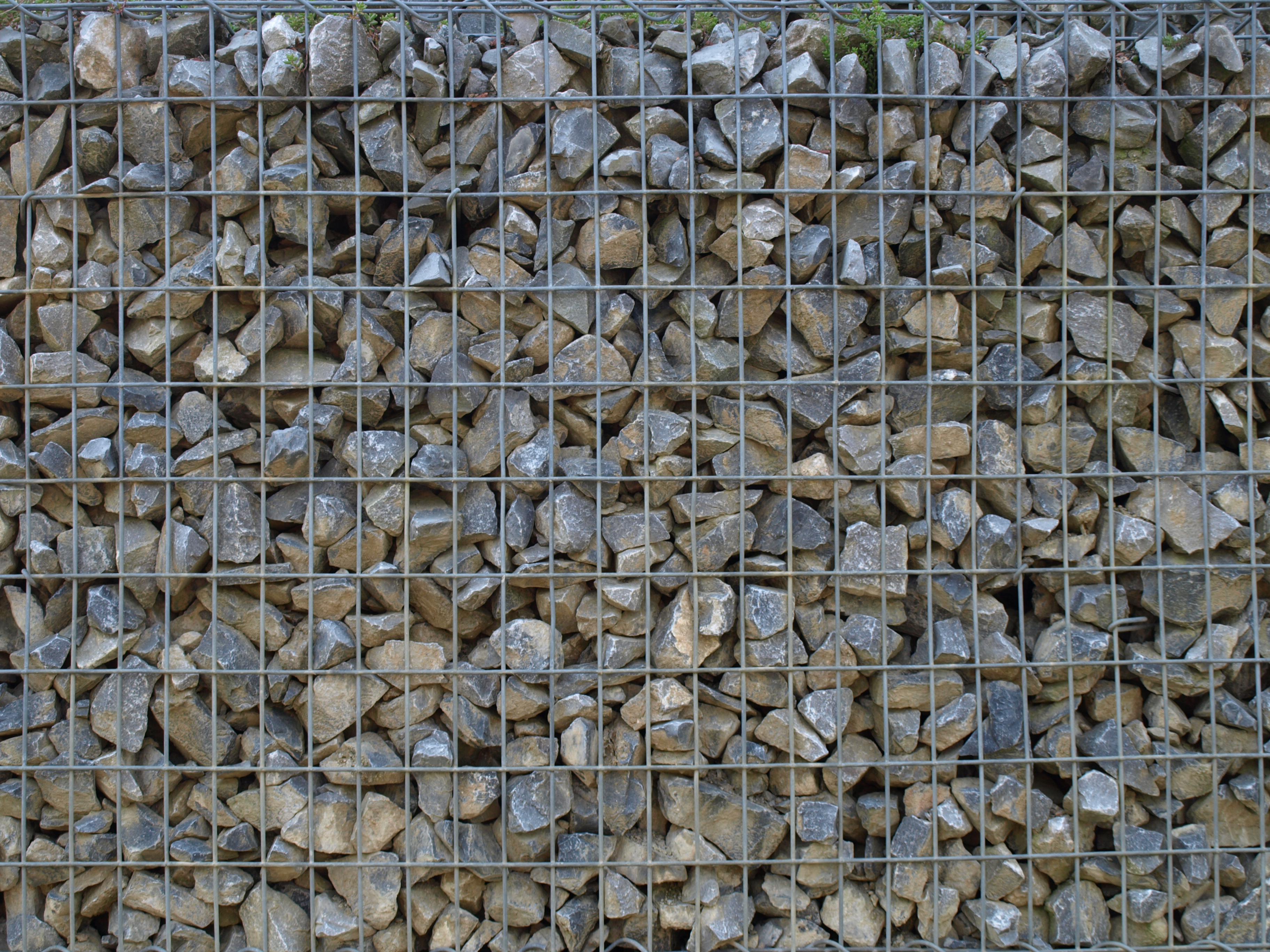 Friday's Free Texture Download – Gabione Stone Basket Wall