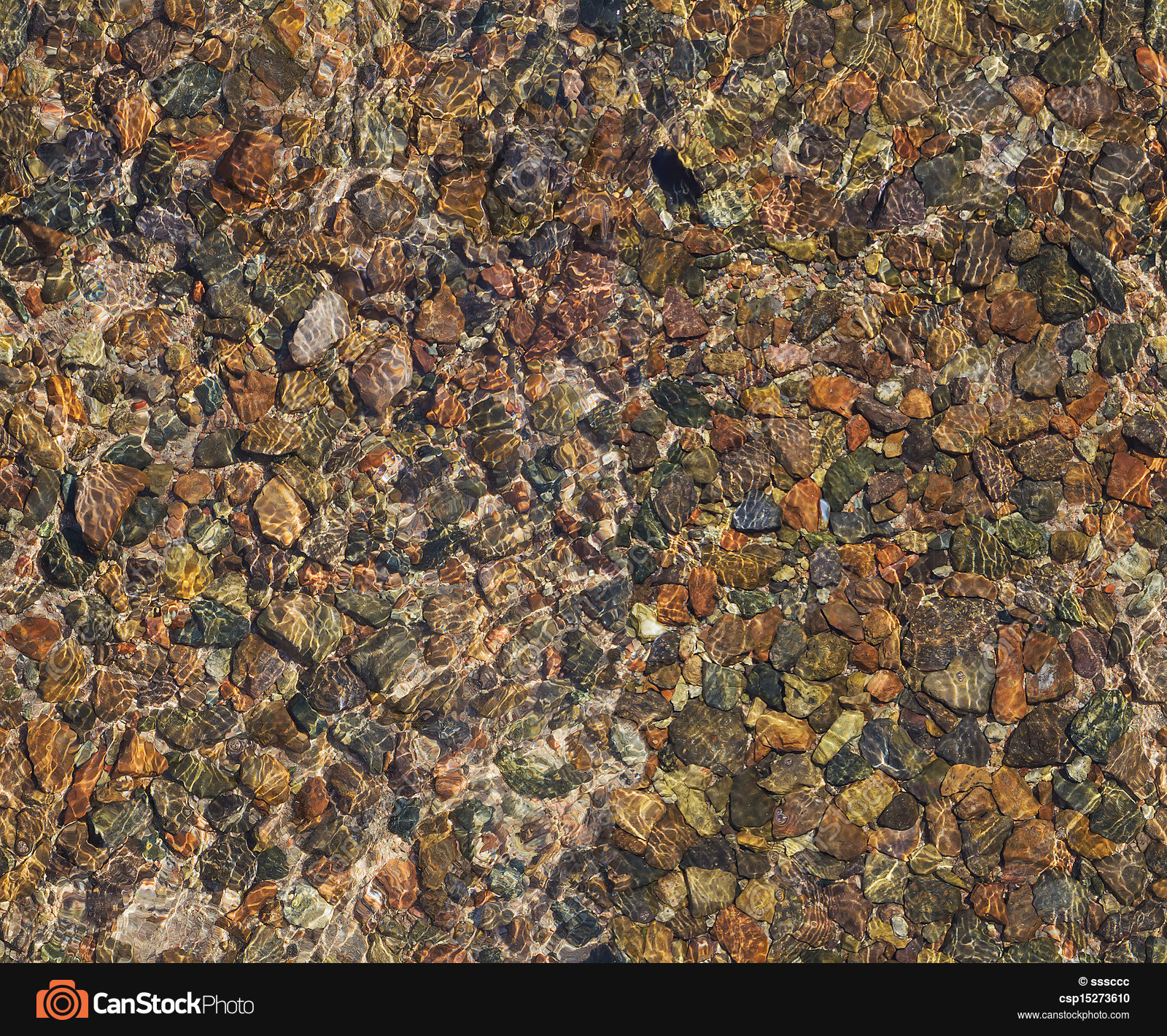 Seamless stone texture. Seamless texture of pebbles under... stock ...