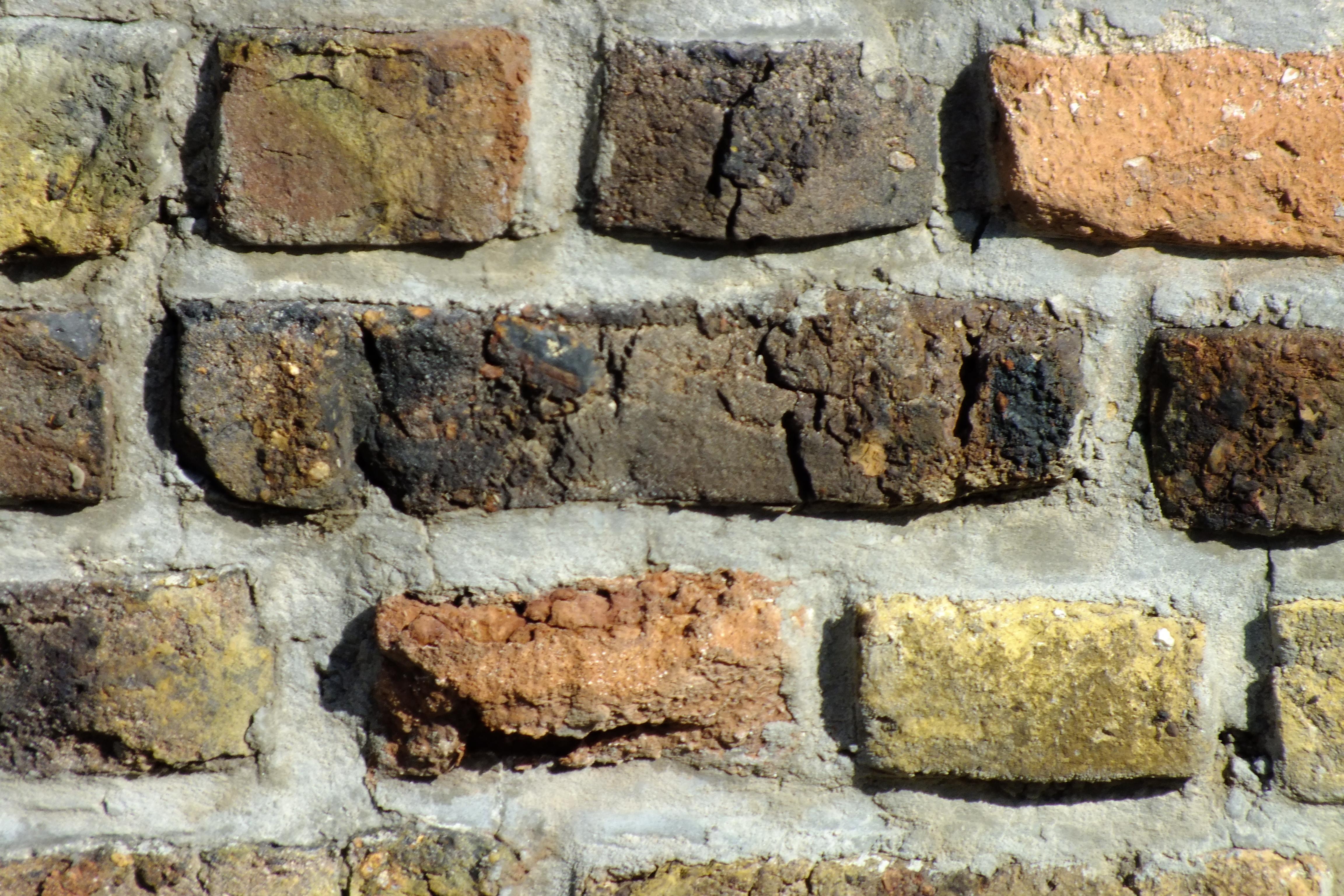 Stone Wall, Bricks, Brown, Grunge, Stone, HQ Photo