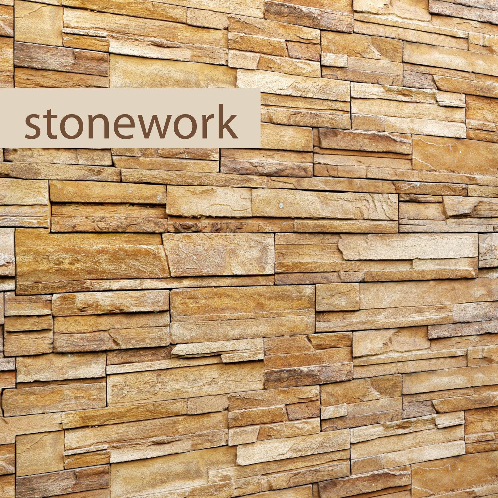 Stone wall slate 3D model | CGTrader
