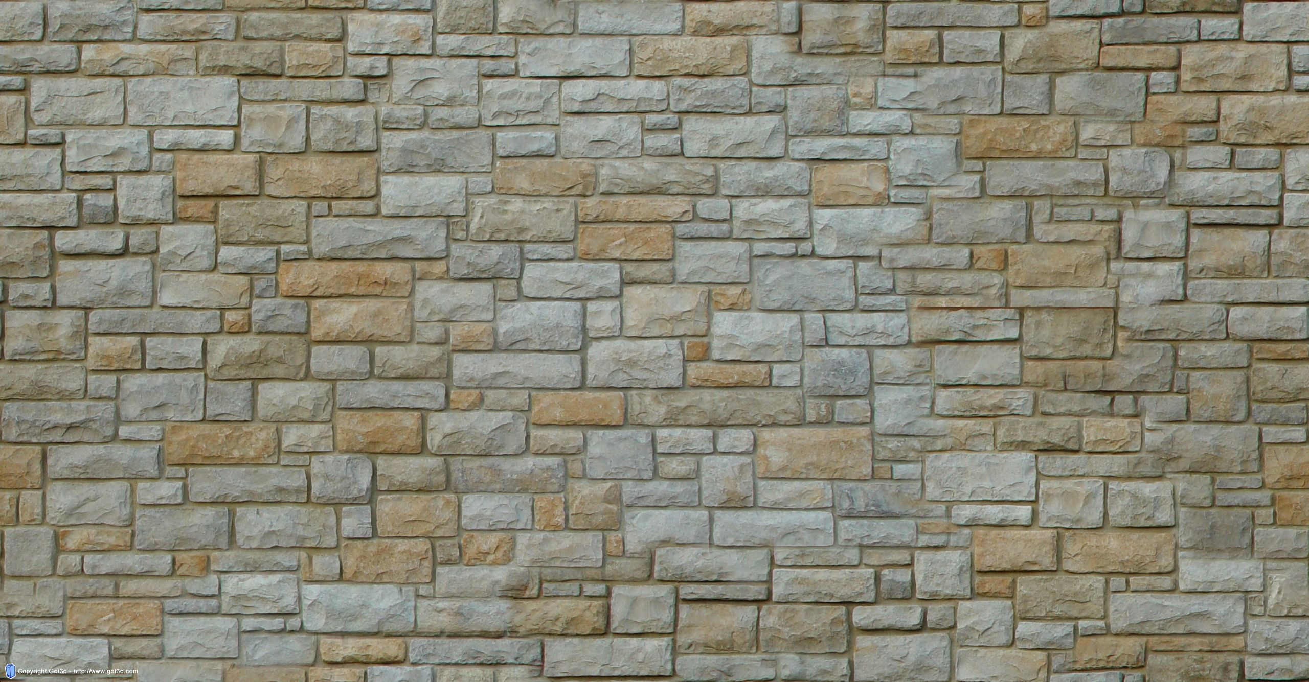 free-stone-wall-texture-002 | Texture & Patterns: Naturals, Neutrals ...