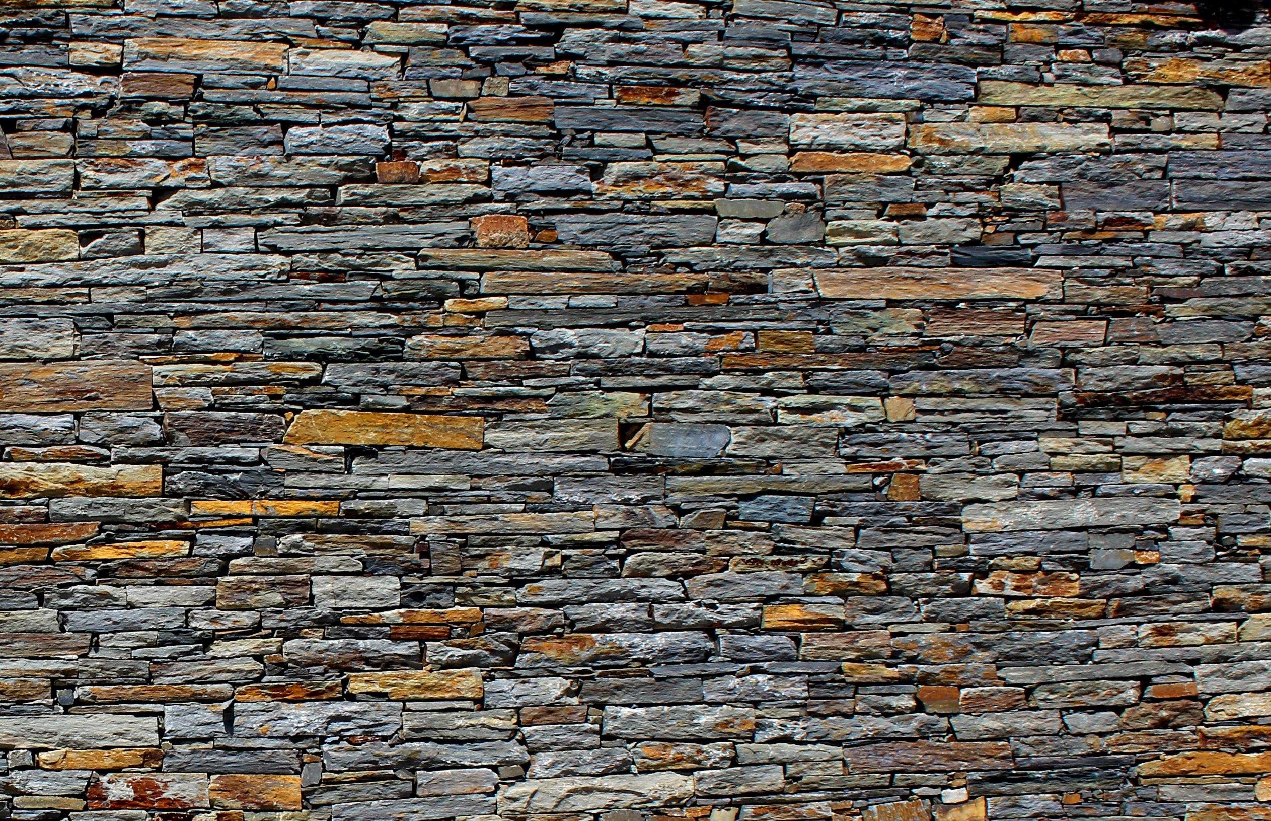 Stone Wall - Stone Texture - Schist - Background, Stone, Rock, Roof, Roofing, HQ Photo