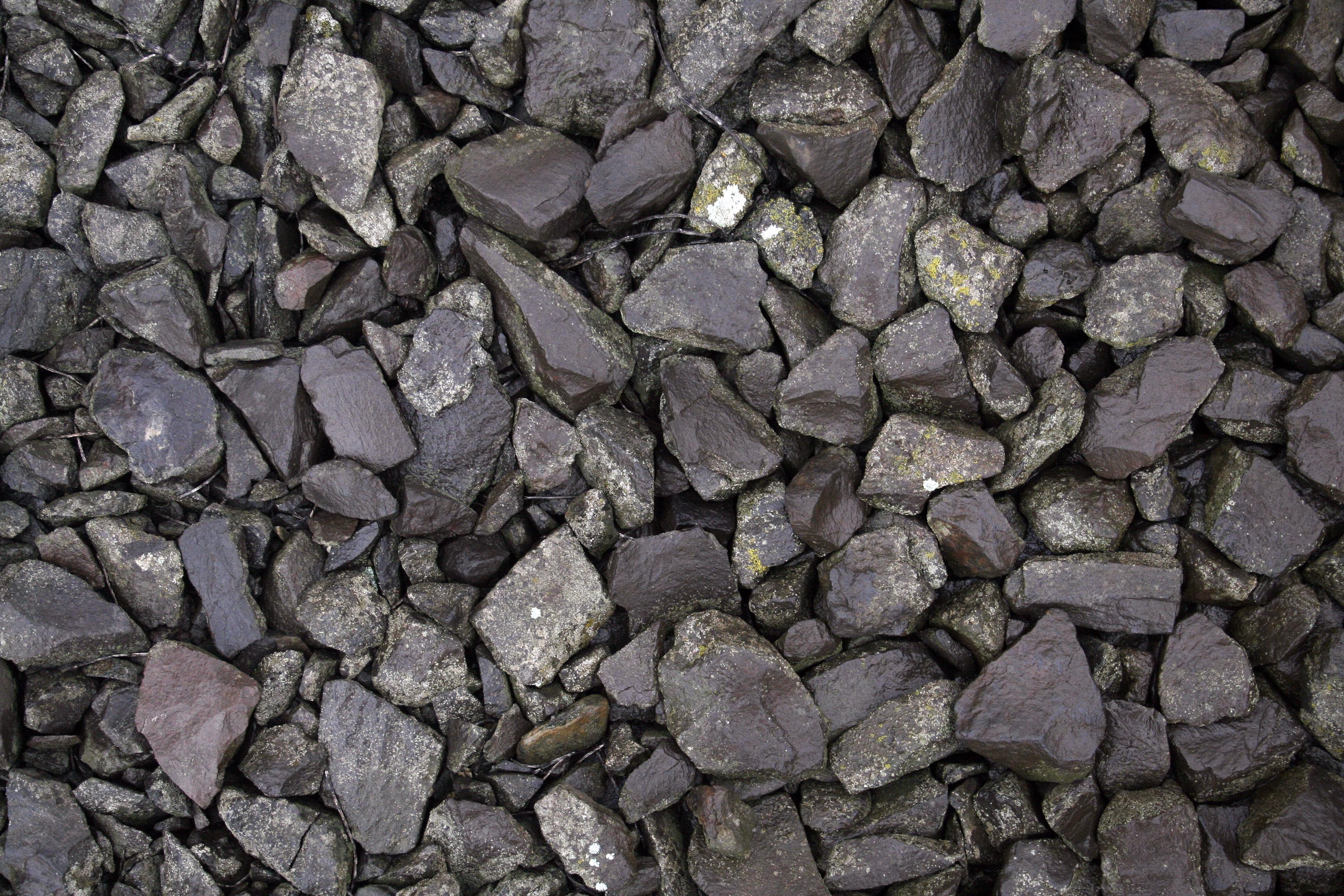 Black gravel free stock stone texture | Textures for photoshop free