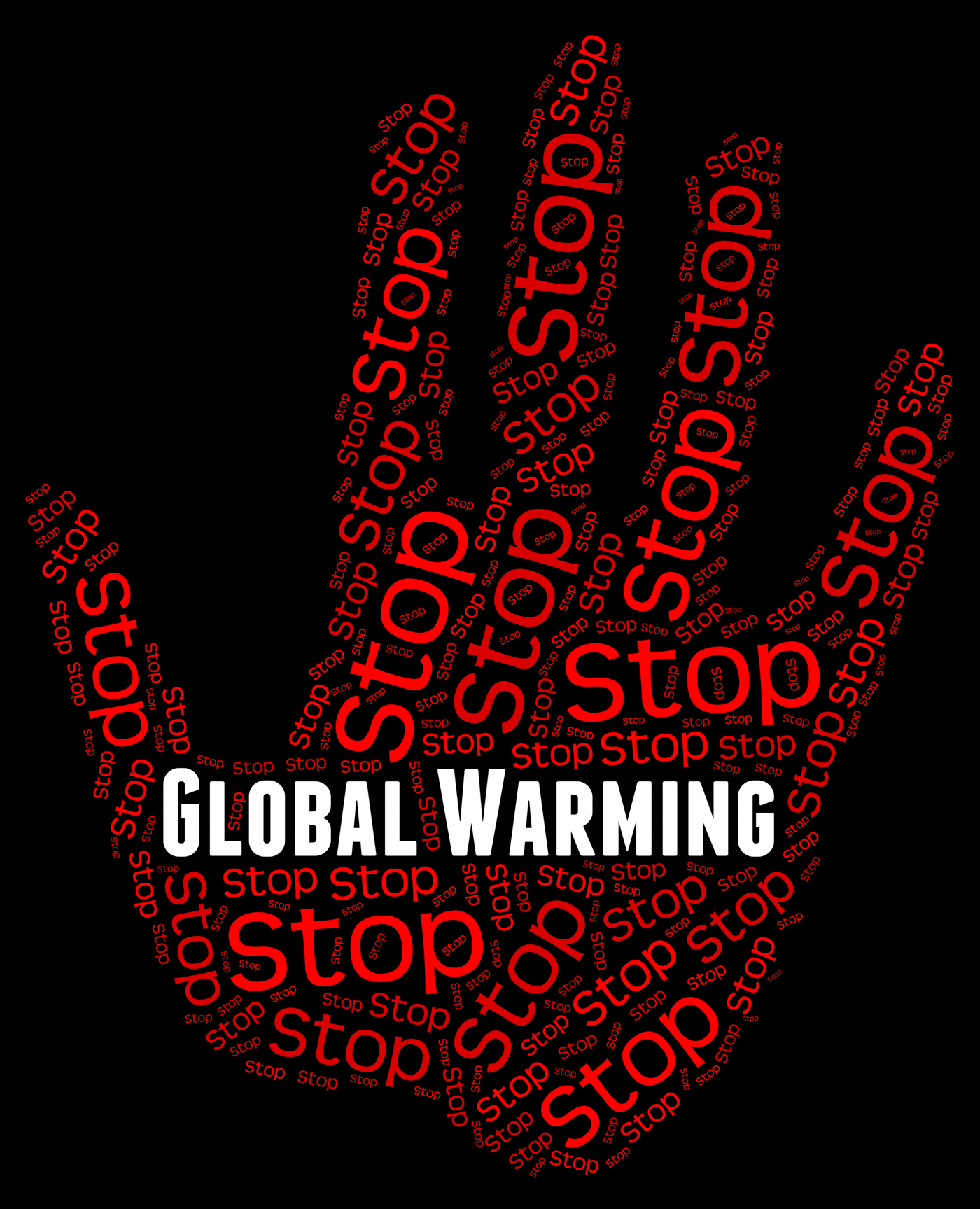 Stop Global Warming Indicates Warning Sign And Caution, Atmosphere, Stops, Prohibit, Prohibited, HQ Photo