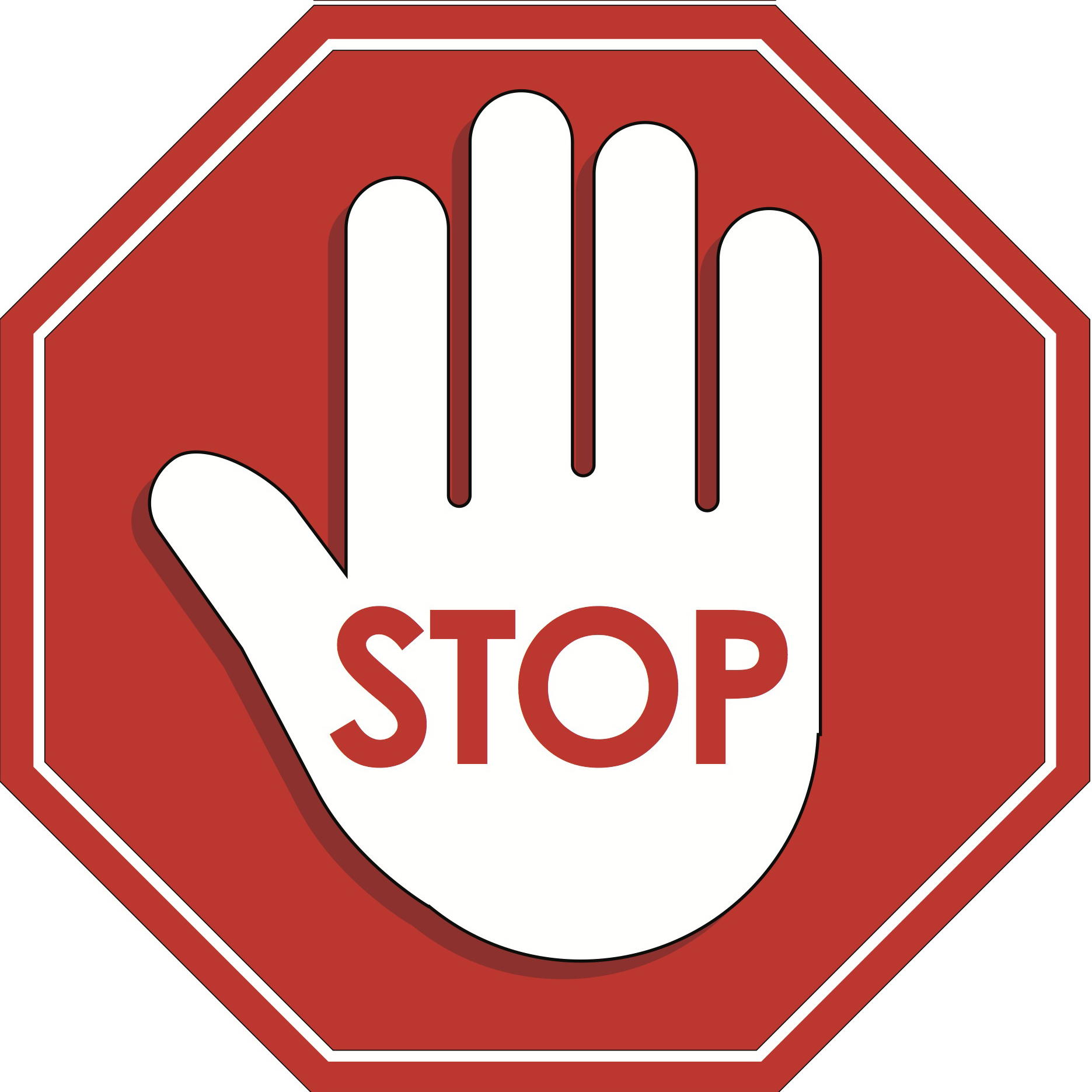 Stop Sign 2 Pack - Stickwix Labels - Healthcare and Home Labeling ...