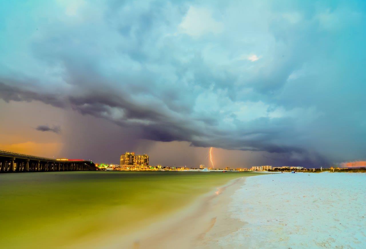 Storm clouds, Clouds, Landscape, Lightning, Nature, HQ Photo