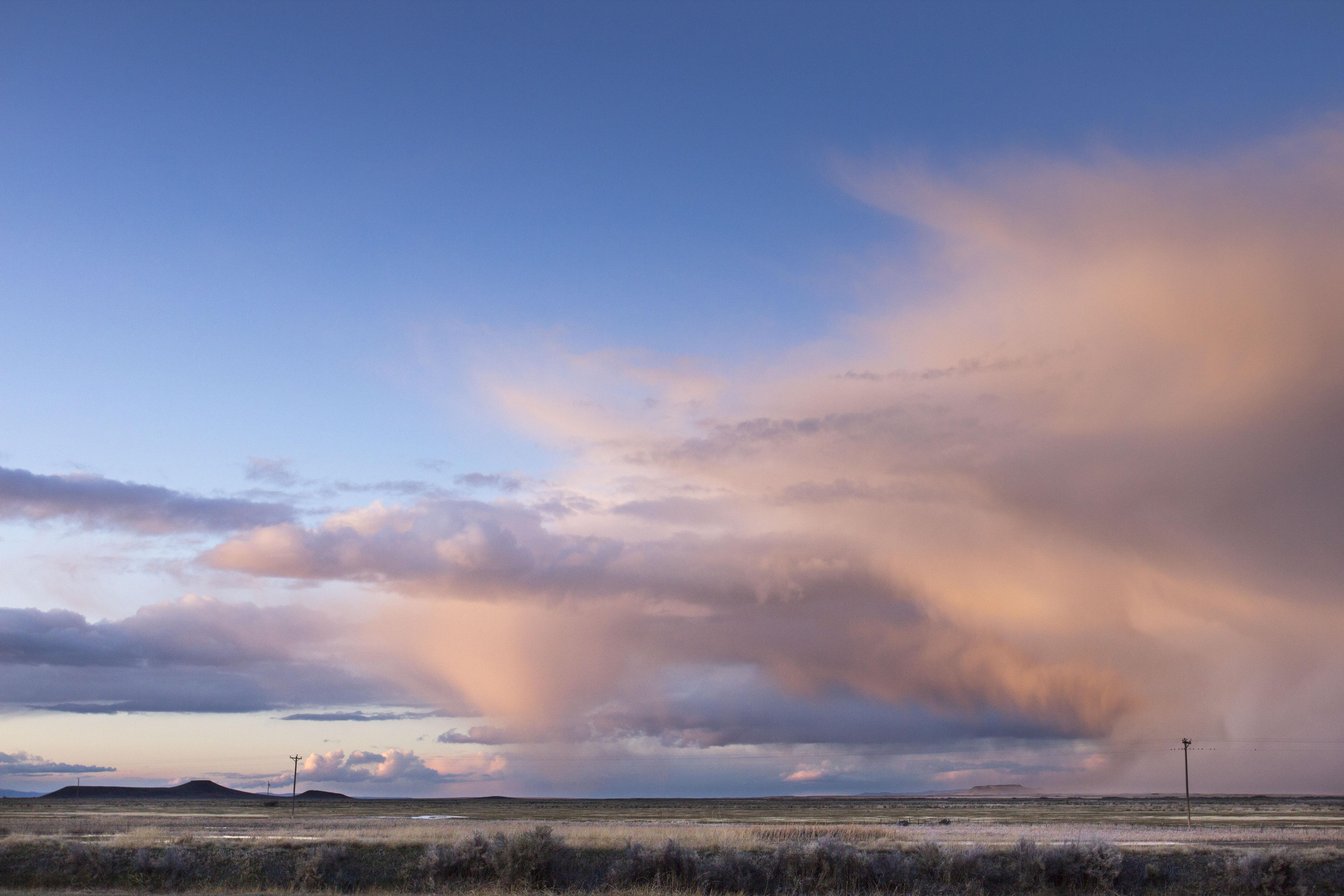 Storm clouds eastern Oregon, Storm, Sky, Sunset, #ThroughHerLens, HQ Photo