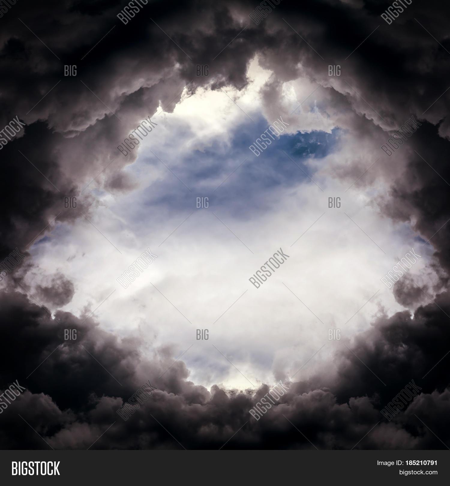 Storm hole photo