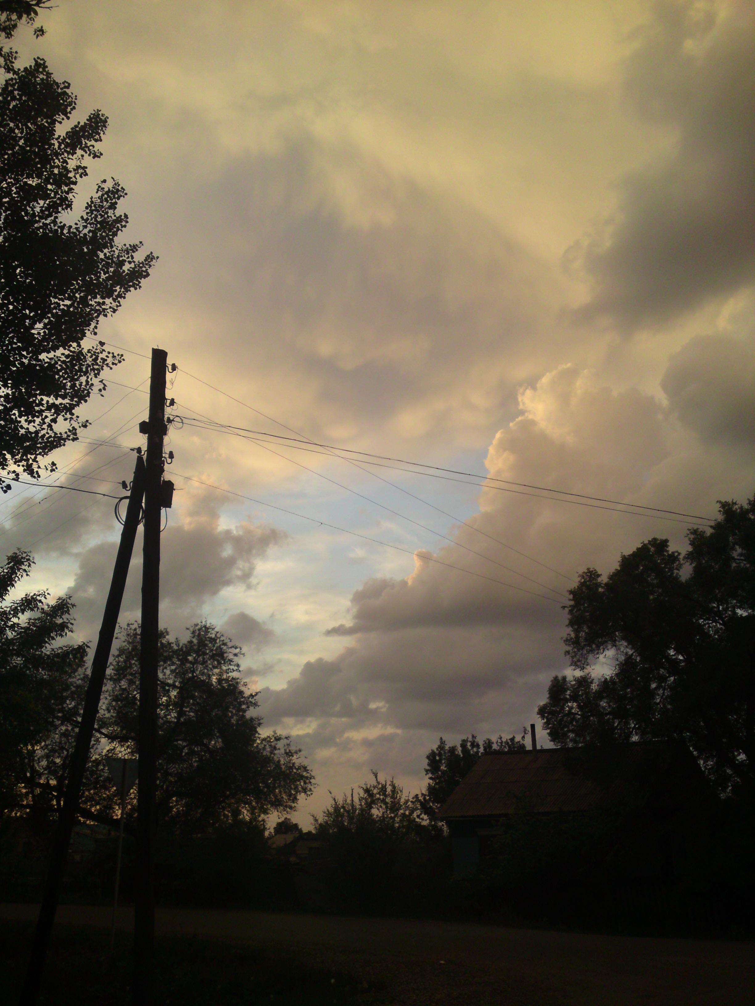 Storm sky photo
