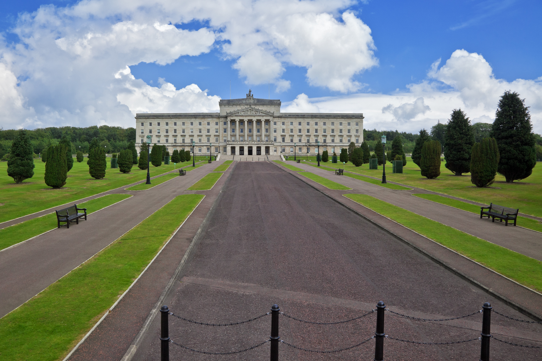 Stormont Castle, Architectural, Pathway, Residence, Red, HQ Photo