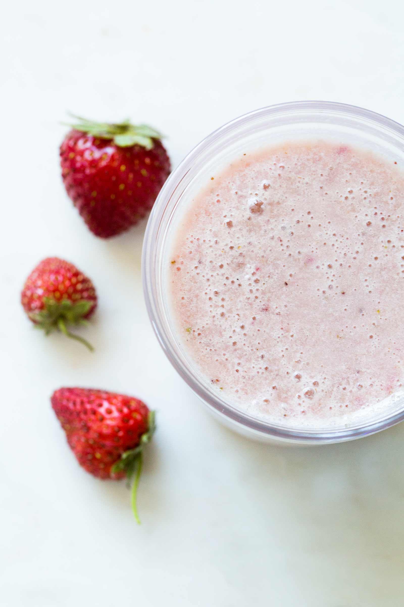 Strawberry Milk Recipe | SimplyRecipes.com