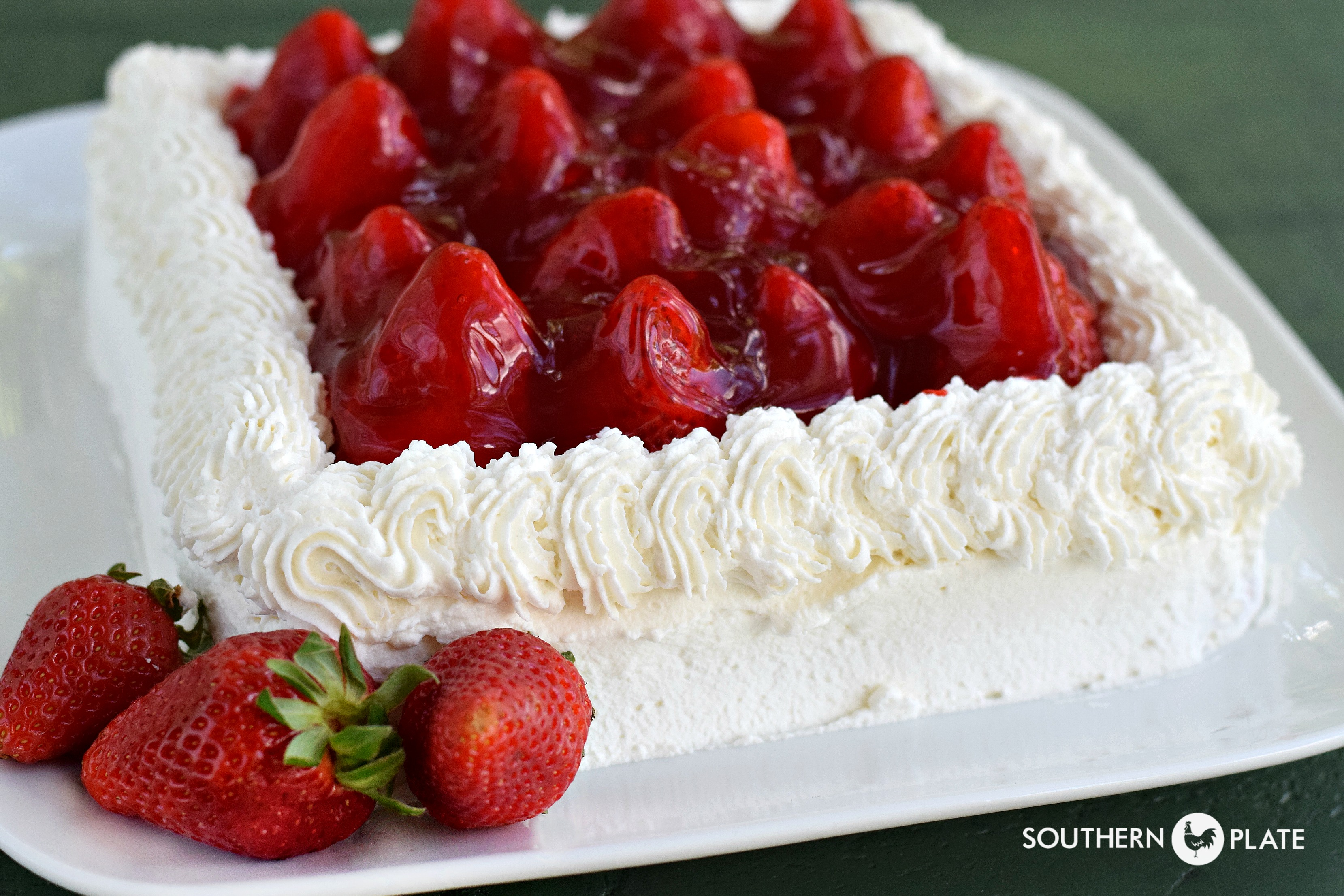 That Strawberry Cake :) | Southern Plate