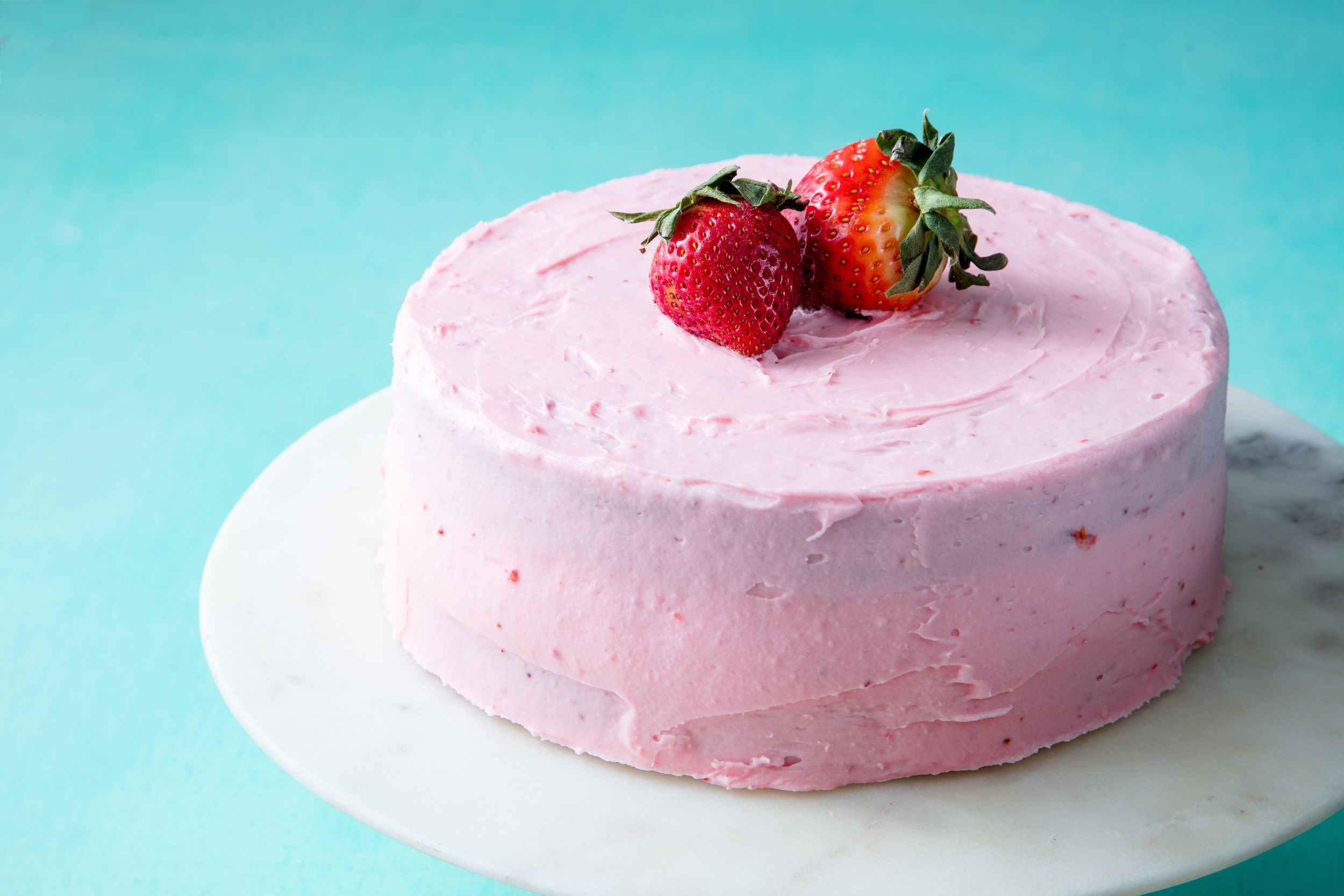 Best Homemade Strawberry Cake Recipe - How to Make Homemade ...