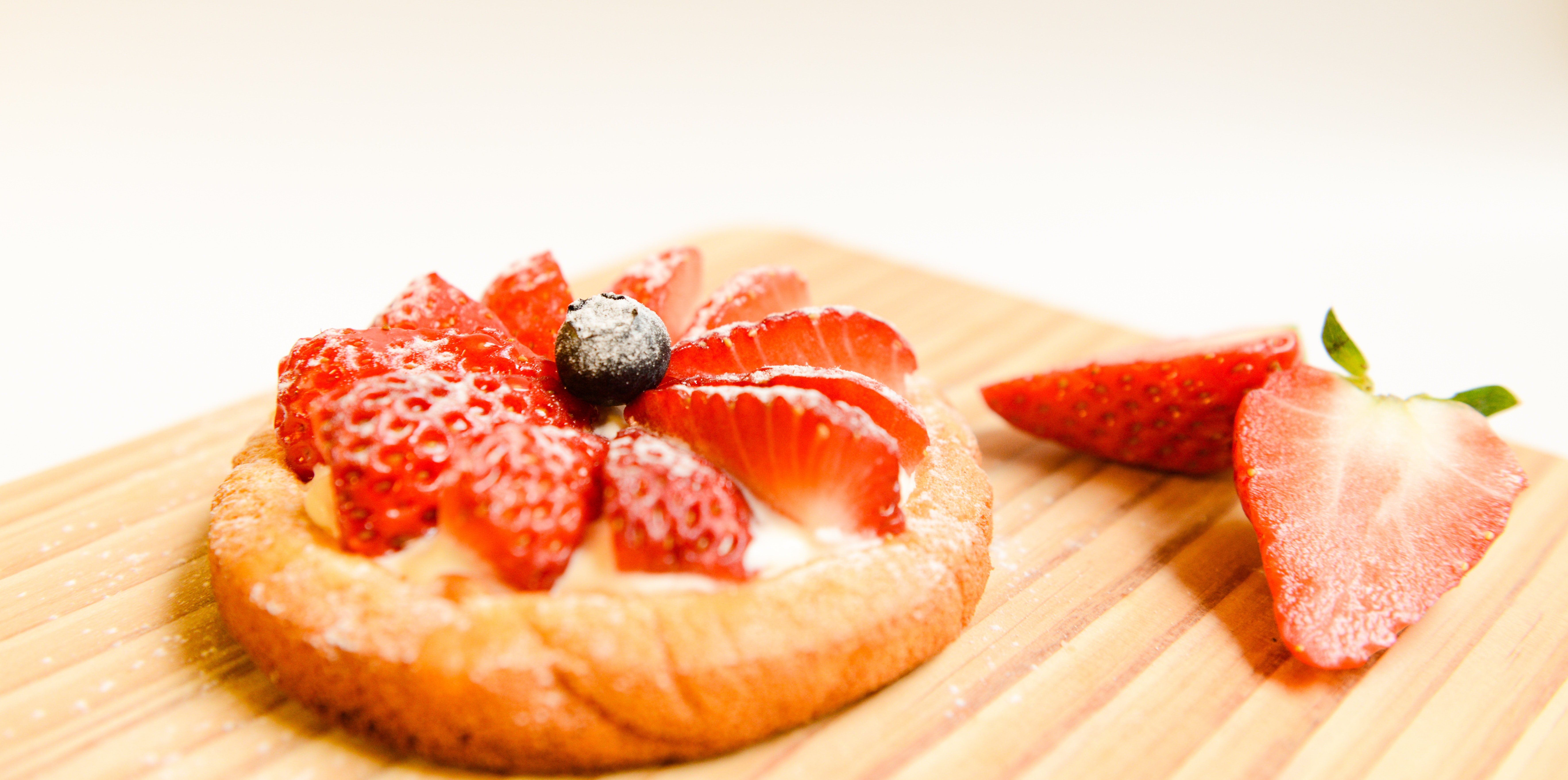 Strawberry Cake, Berries, Cake, Close-up, Close -up, HQ Photo
