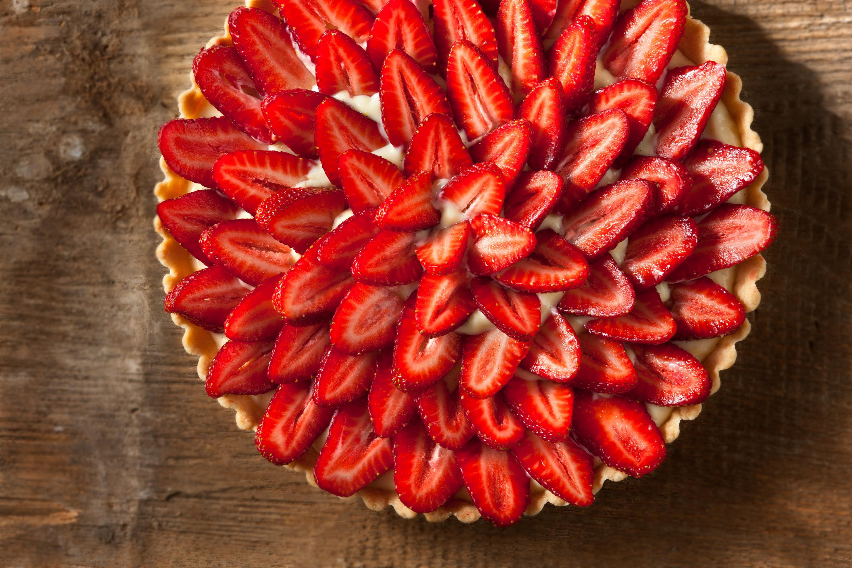 Strawberry Tart with Citrus Pastry Cream Recipe - Chowhound