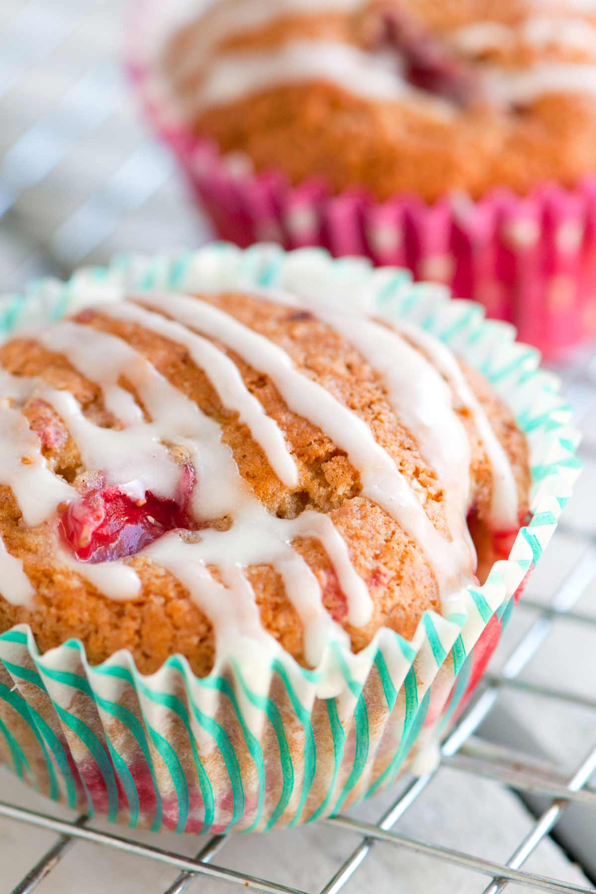 Simple Strawberry Yogurt Muffins Recipe