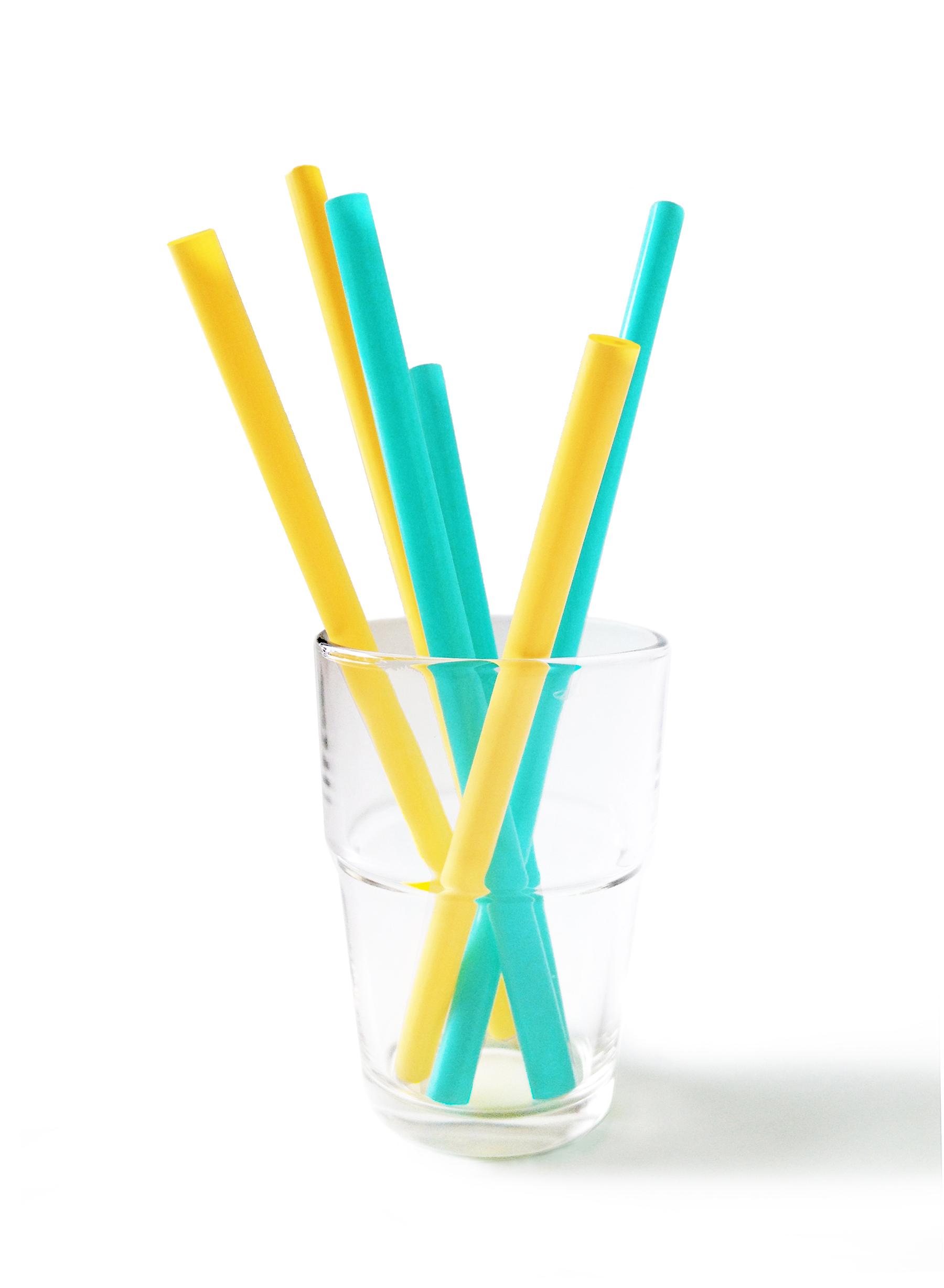 Siliskin Reusable Silicone Straws